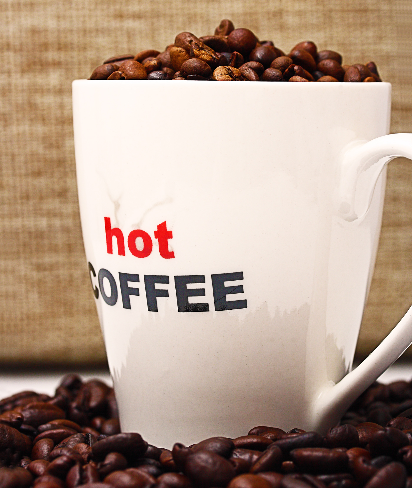 Hot Coffee For A Relaxing Break, Bean, Grains, Strong, Seed, HQ Photo