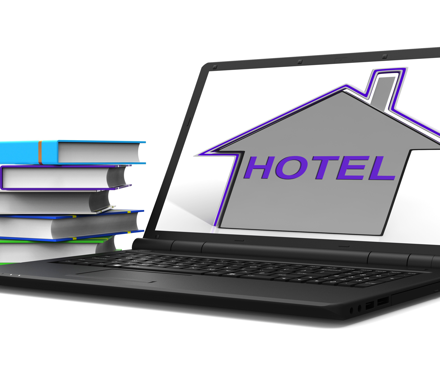 Hotel house tablet means holiday accommodation and vacancies photo