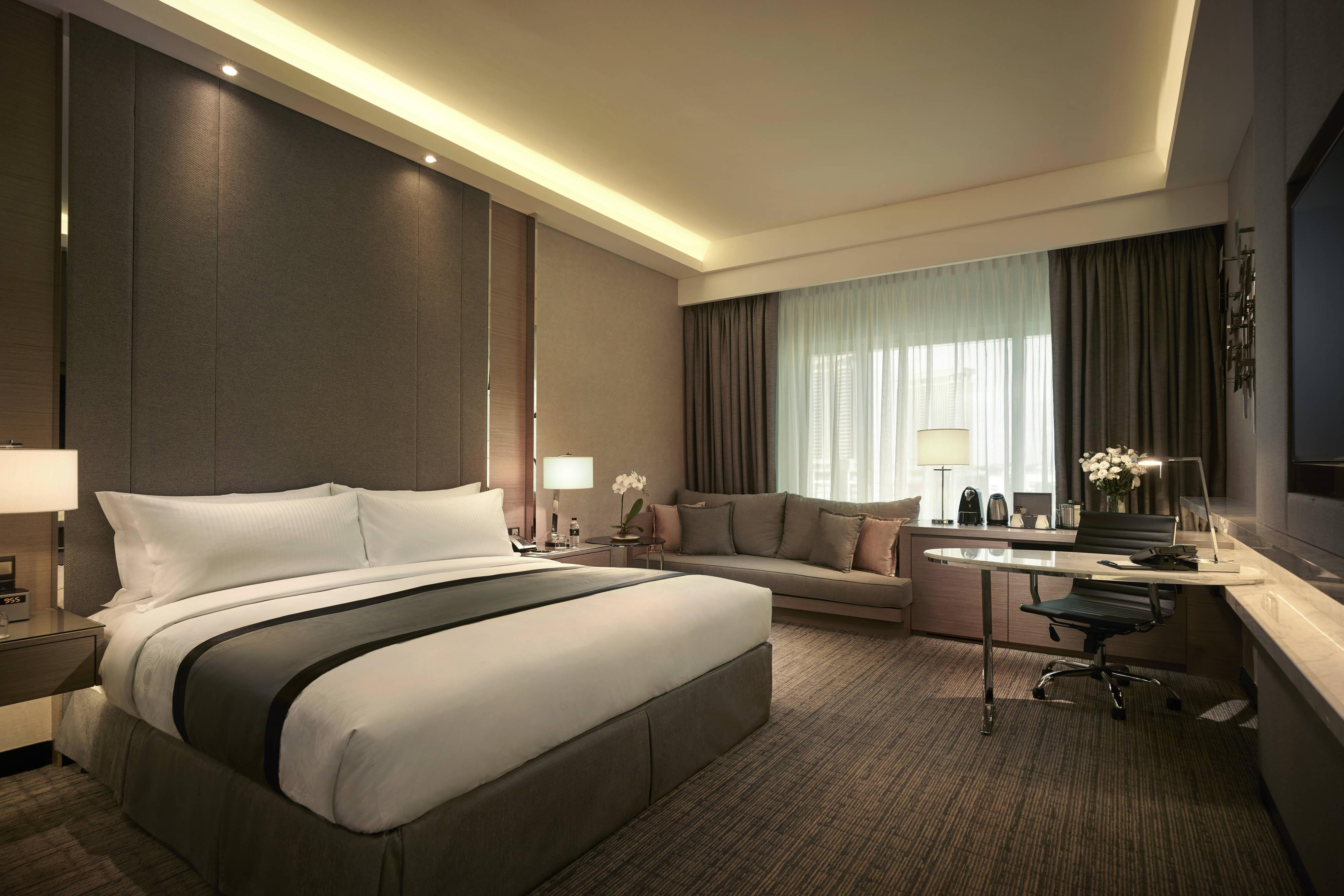JW Marriott Hotel Kuala Lumpur hotel amenities | Hotel room highlights