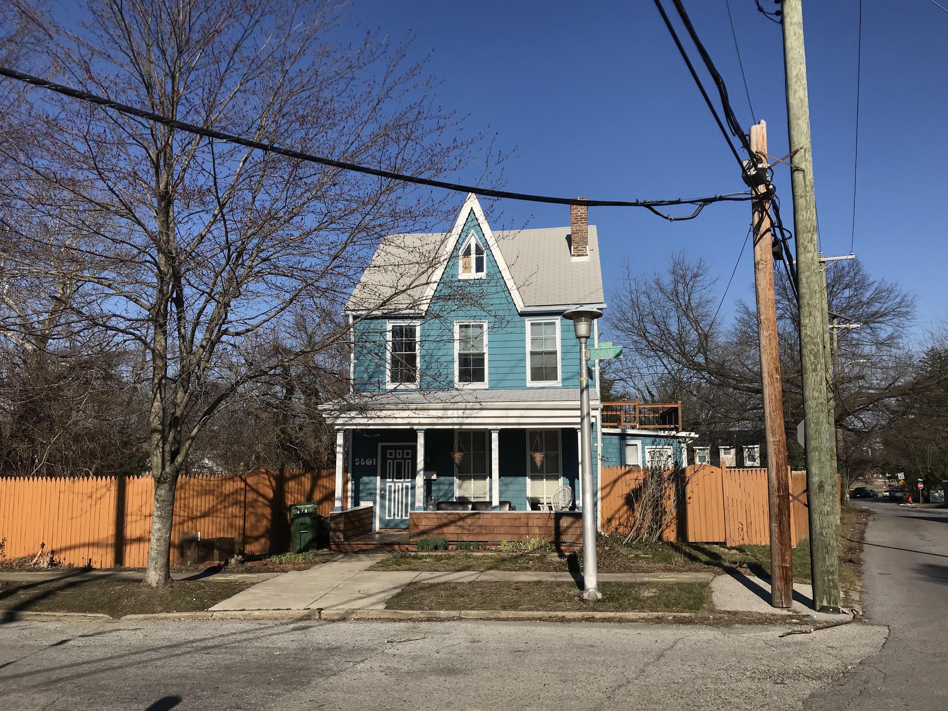 House, 5601 Govane Avenue, Baltimore, MD 21212, Sky, Tree, Road, Maryland, HQ Photo