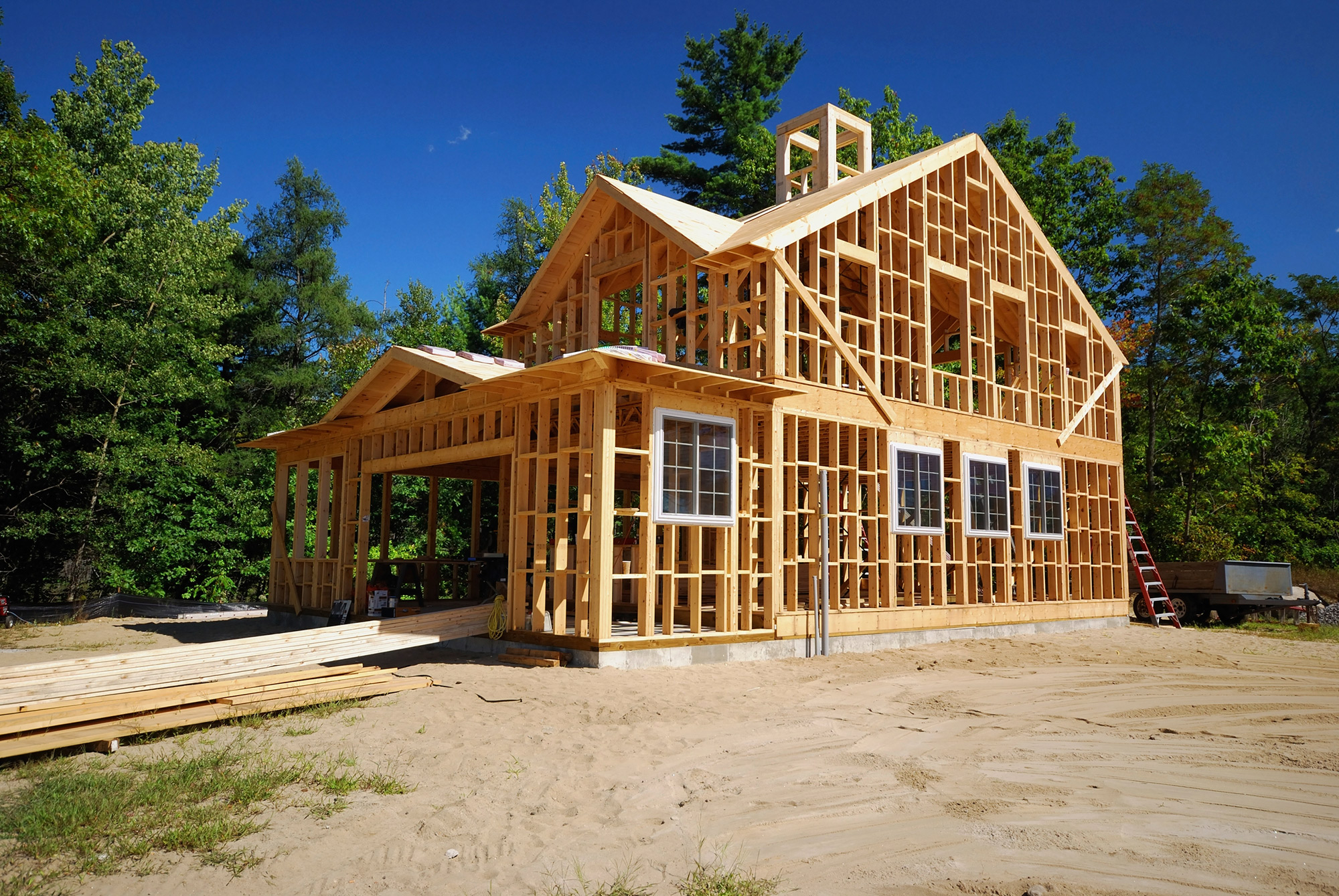 Free photo: House Construction - Builders, Constructions, House - Free  Download - Jooinn