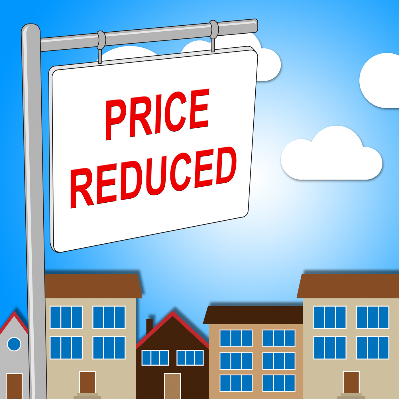 House Price Reduced Means Properties Offer And Bungalow, Promo, Savings, Sales, Sale, HQ Photo