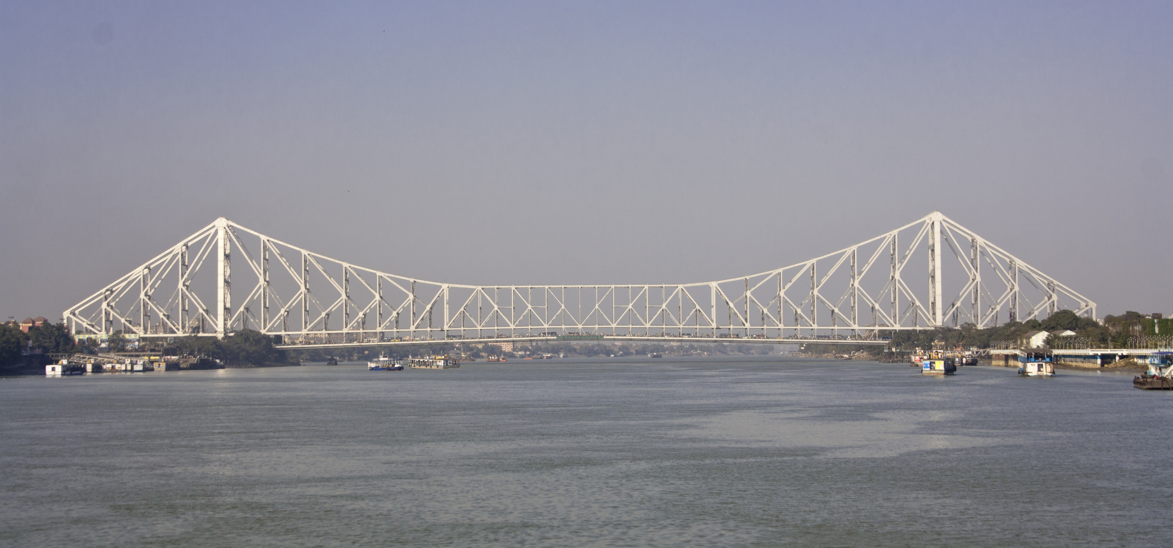 File:Howrah Bridge view 01.jpg - Wikimedia Commons