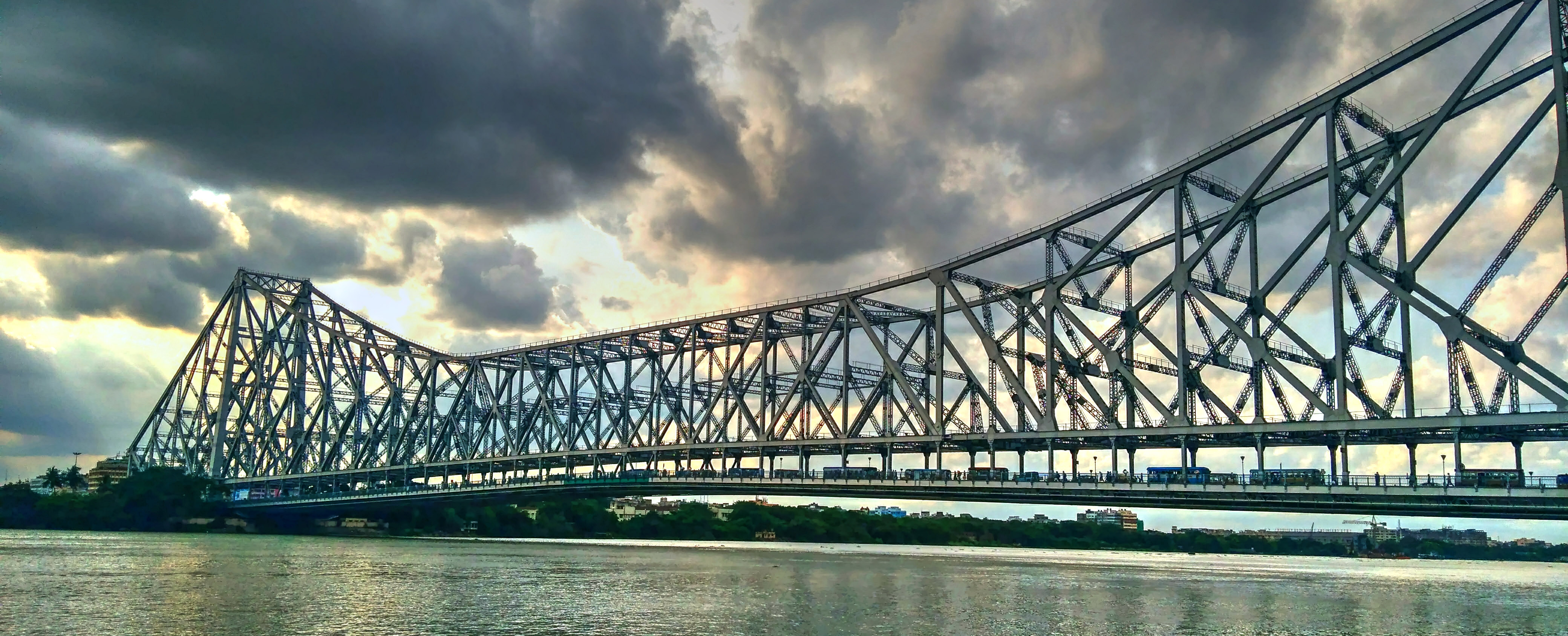Howrah Bridge - Iconic Bridge in India by Oursamyatra