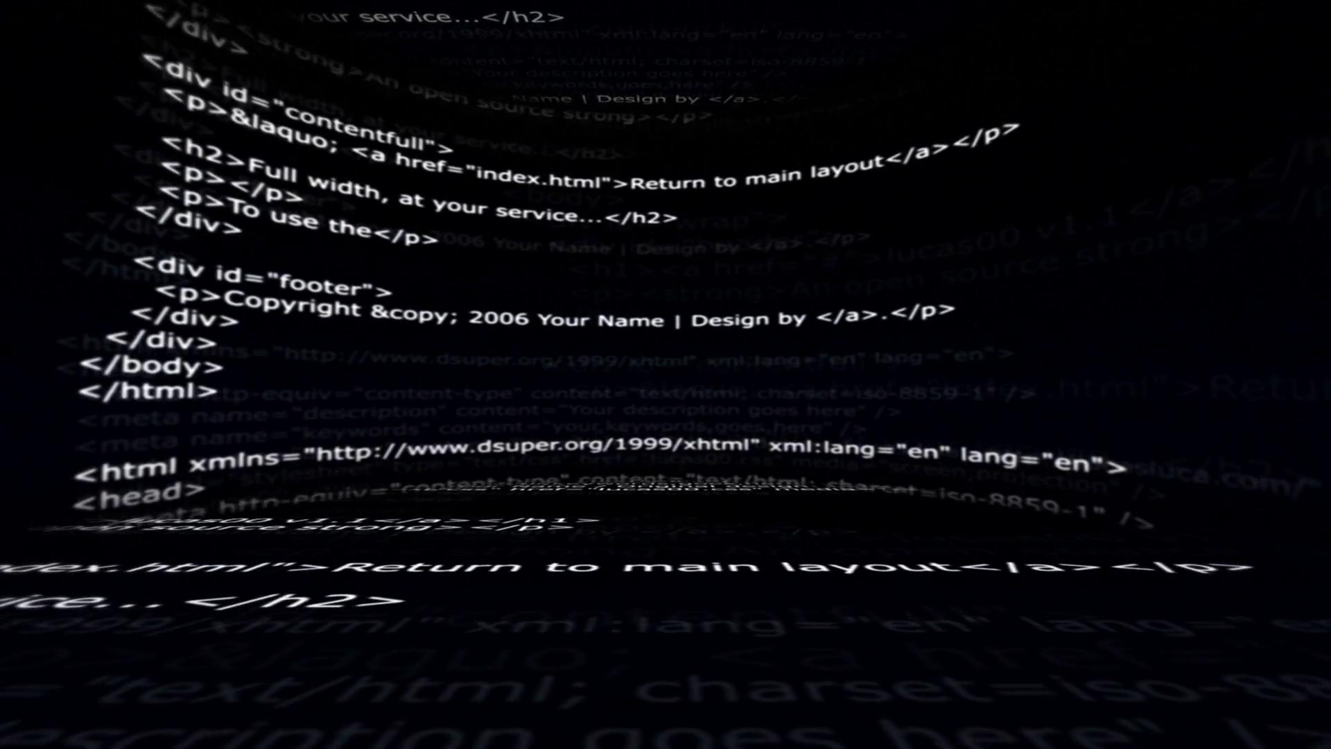 Free Photo Html Code Close Up Code Coder Free