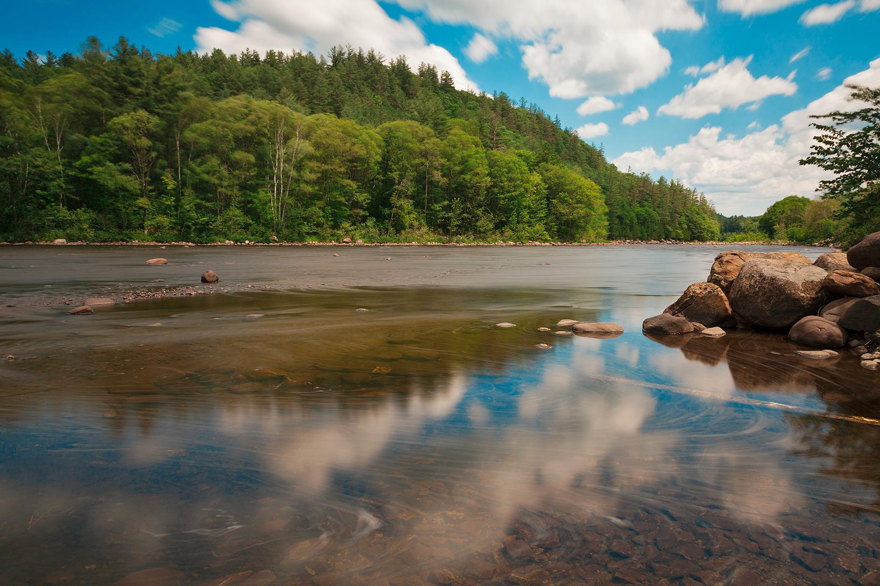 Hudson River, Adirondack, Reflections, Shadow, Shades, HQ Photo