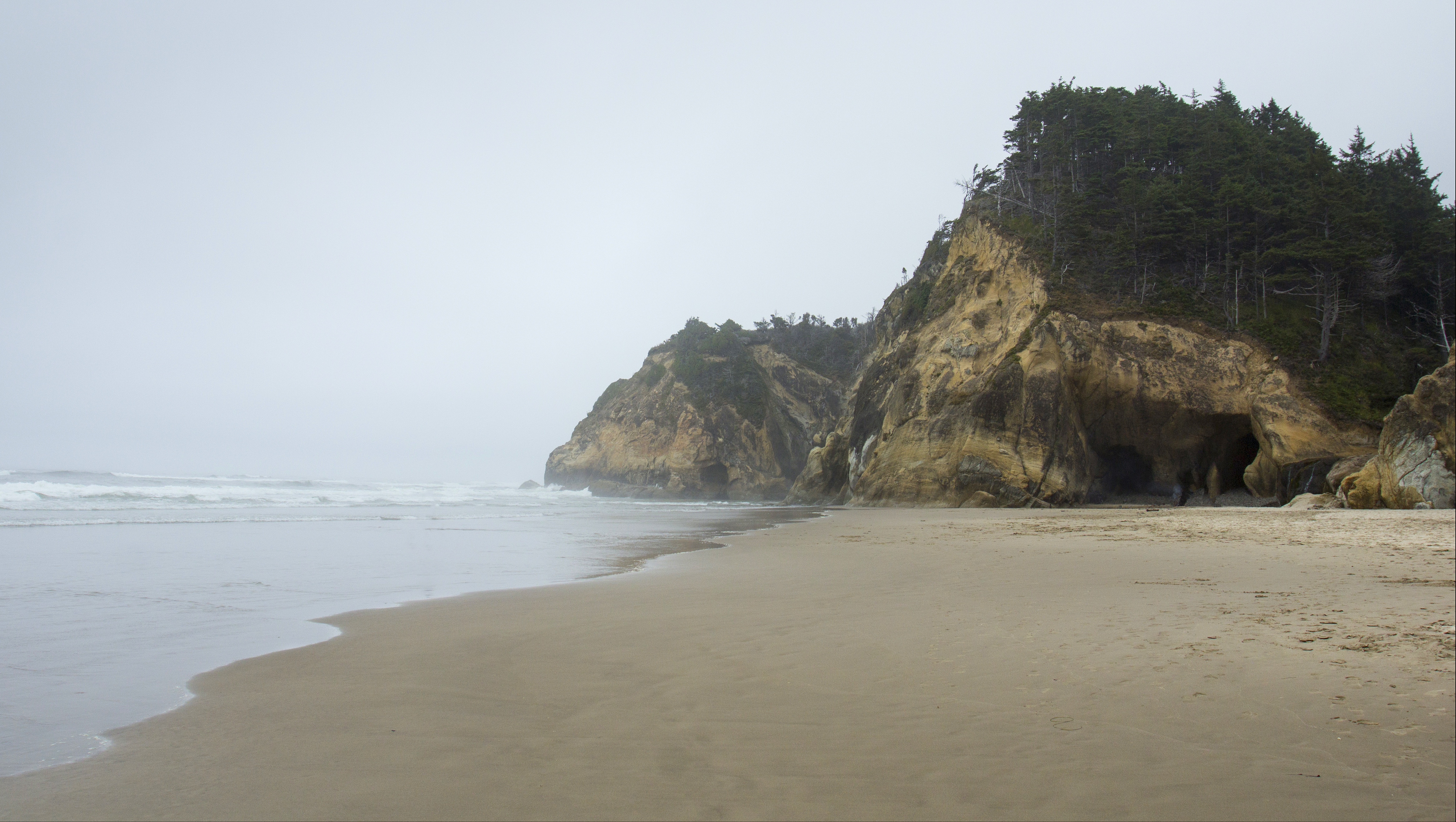 Hug beach, oregon photo