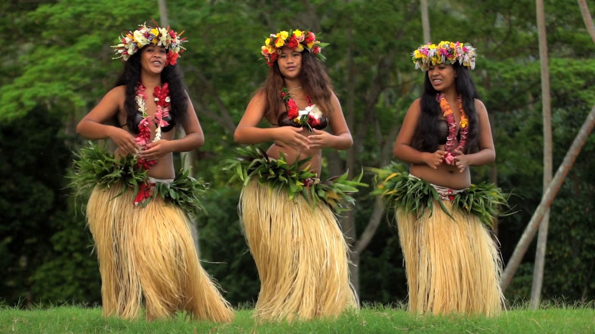 Hula dancers photo