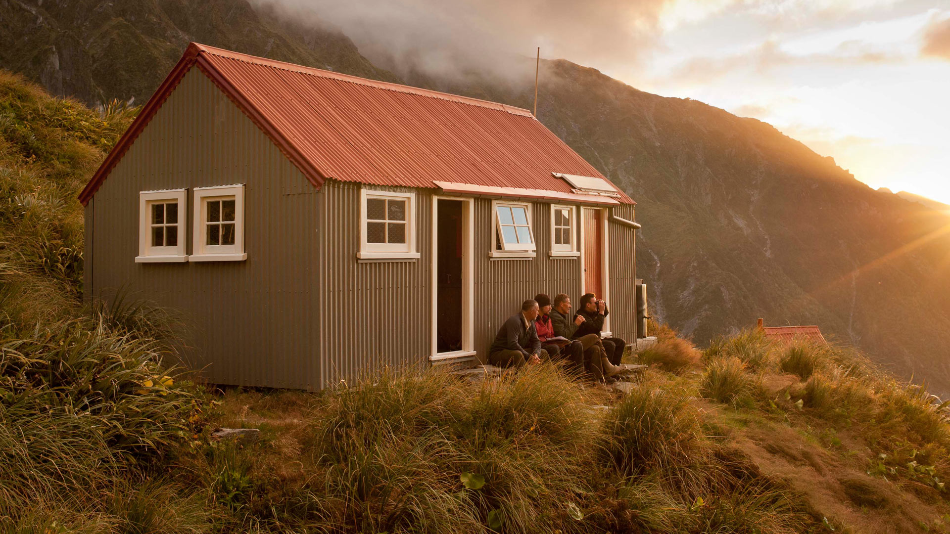 Chancellor Hut: Westland Tai Poutini National Park, West Coast region