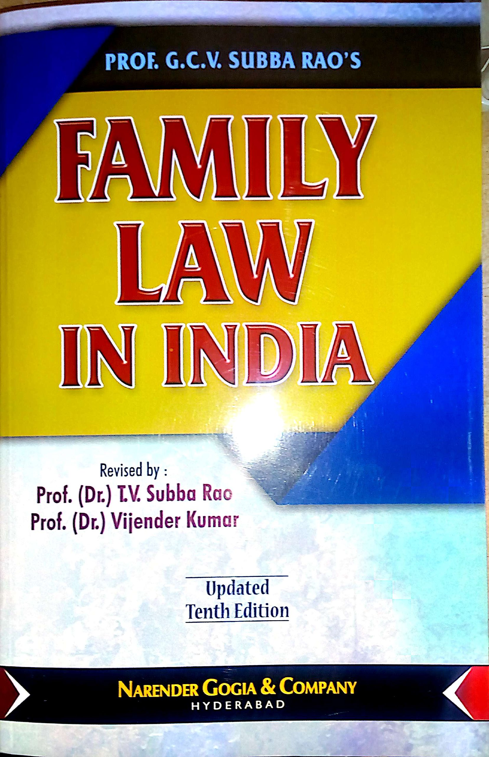 Ashok Law House - LL.B. (3YDC) I Semester, Contract - I, Family Law ...