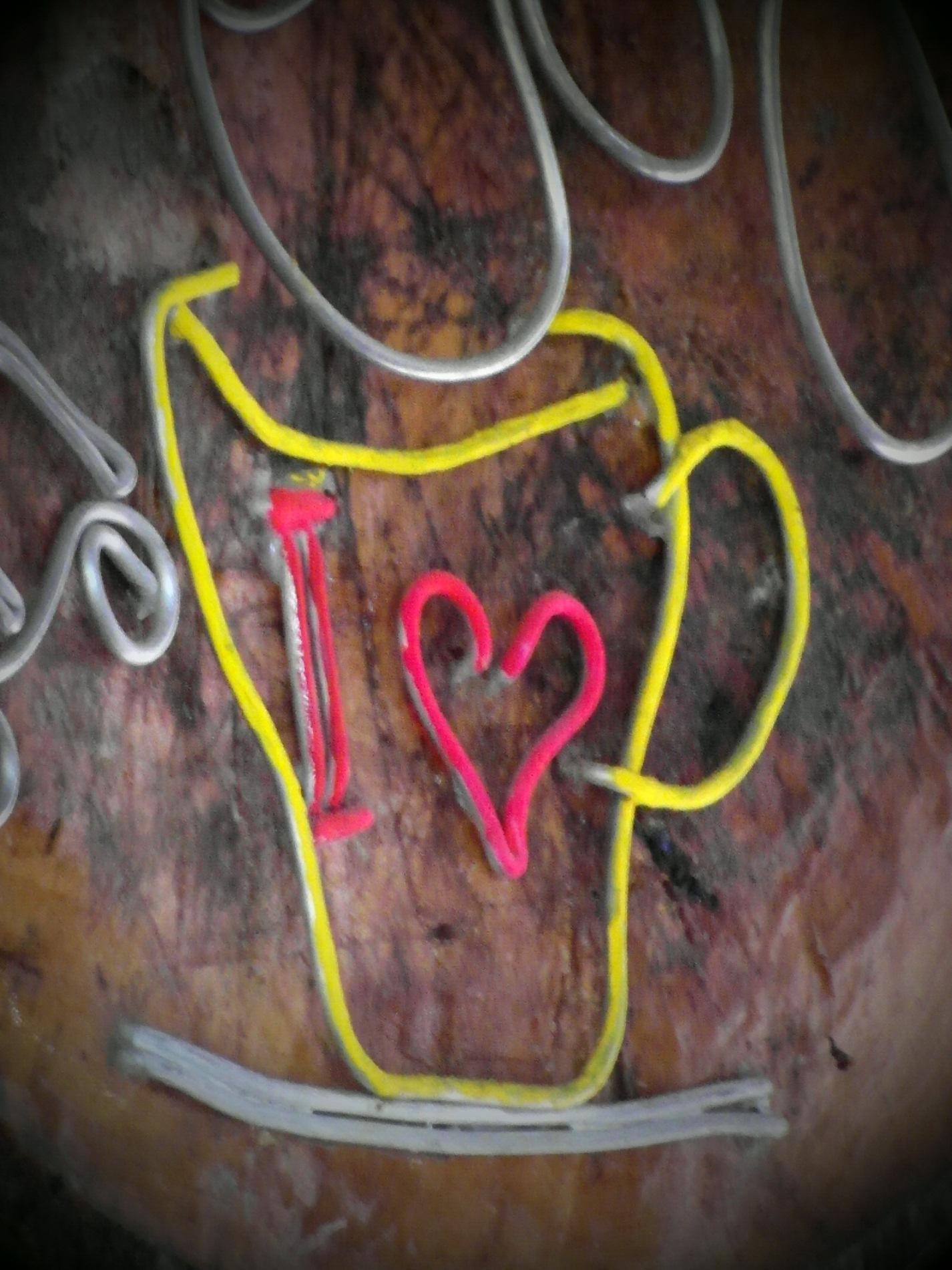 I Love Coffee Sign, Artisan, Bamboo, Cafe, Coffee, HQ Photo