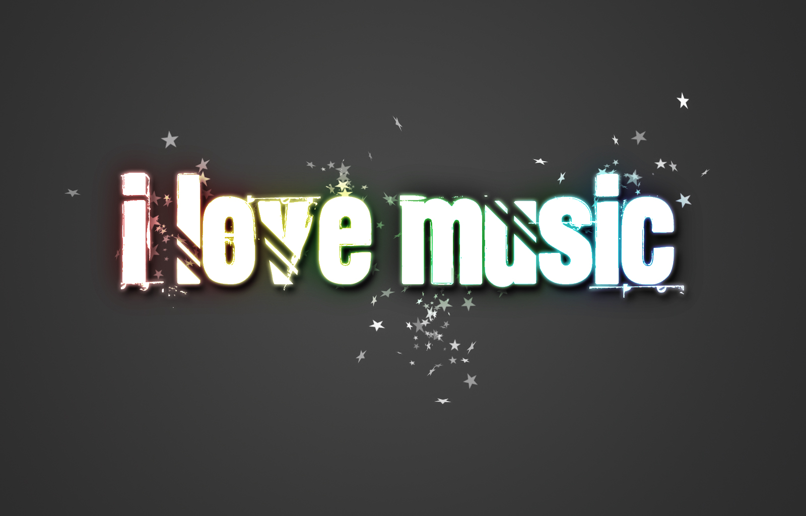 Free photo: I love Music - Wall, Wallpaper, Text - Free