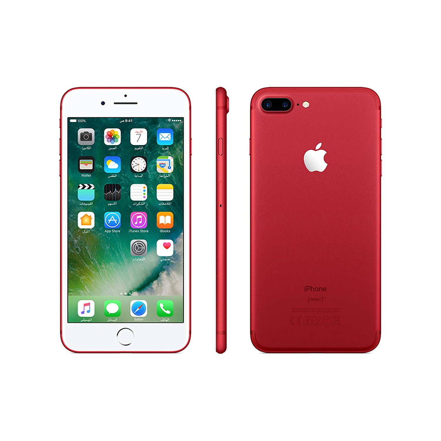 Amazon.com: Apple iPhone 7 Plus 128 GB Unlocked, Red: Cell Phones ...