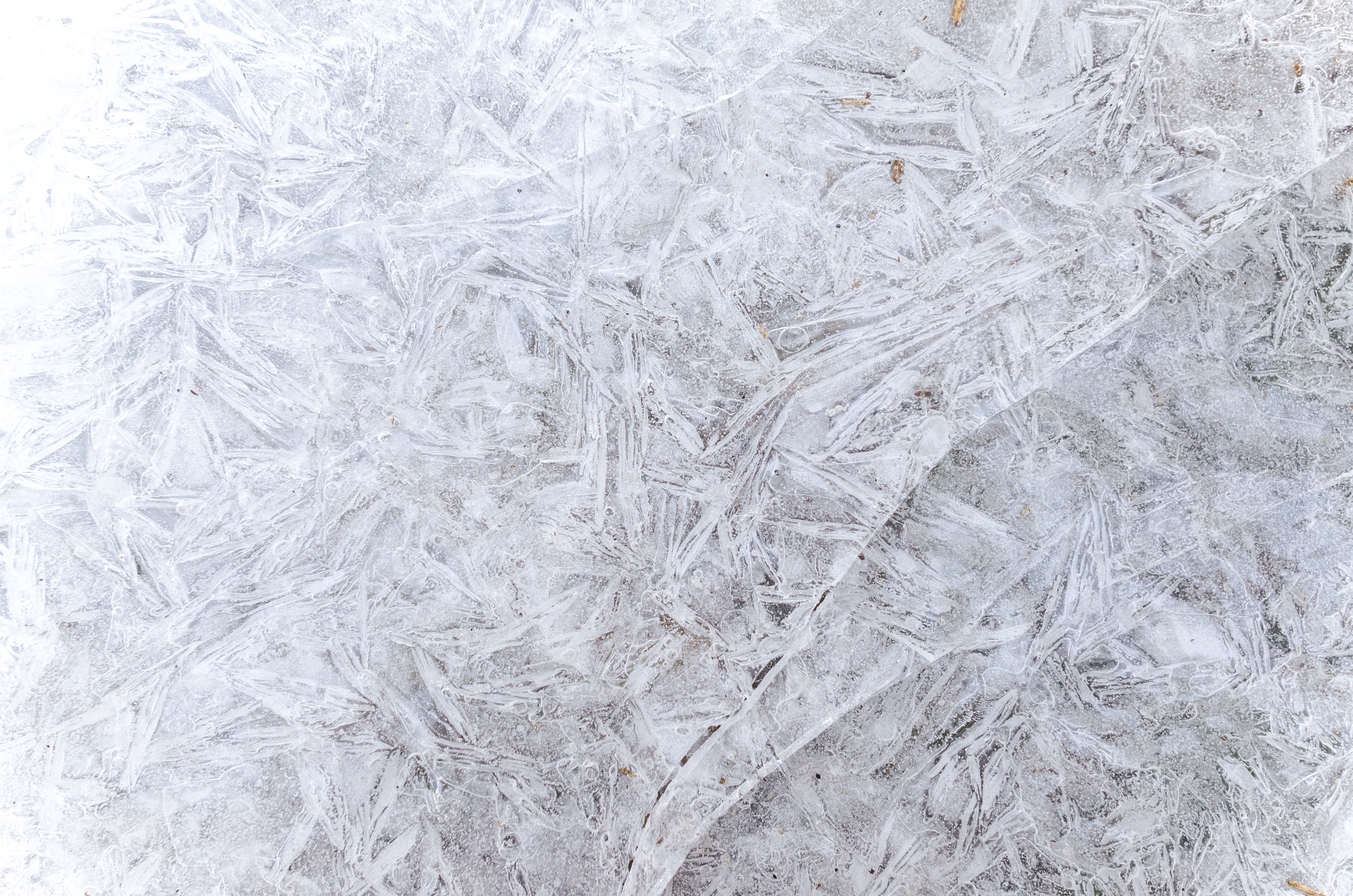 Ice abstract texture in winter, Structure, Icy, Natural, Nature, HQ Photo