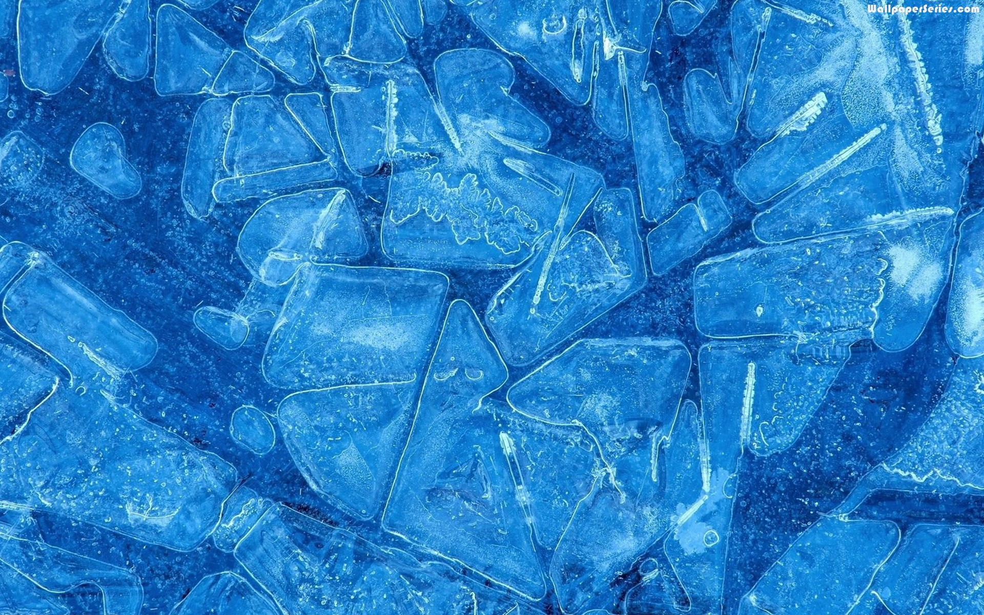 Blue Ice Textu HD Wallpaper, Background Images