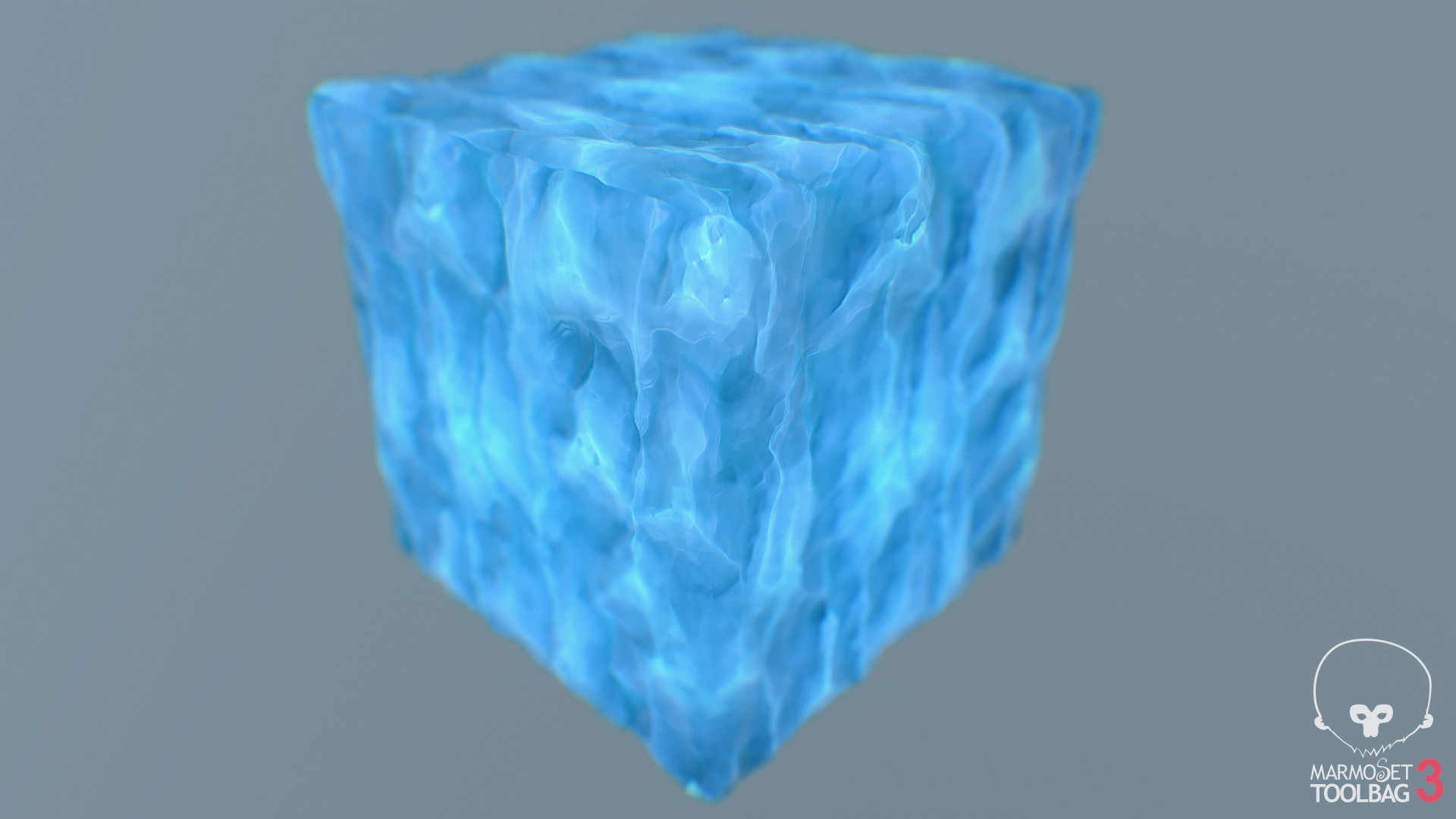 ArtStation - Stylized Ice Texture, Ricardo Alves