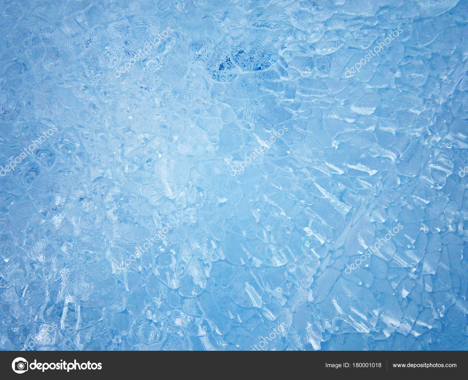 Blue ice. Abstract ice texture. — Stock Photo © slay19 #180001018