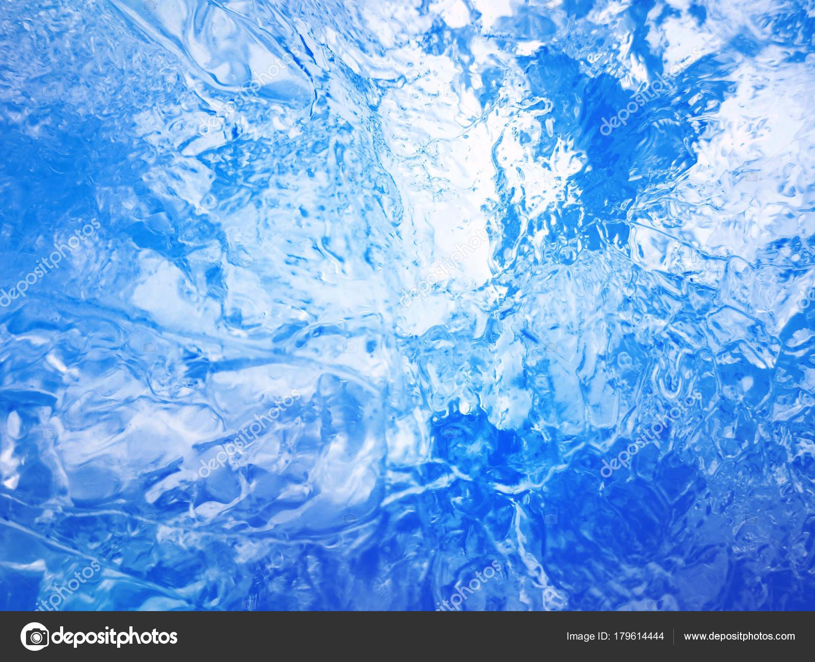 Blue ice. Abstract ice texture. — Stock Photo © slay19 #179614444