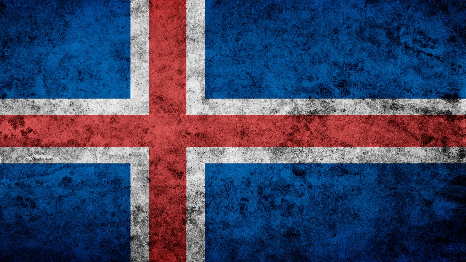 Grunge flags Iceland artwork wallpaper | 1920x1080 | 191962 ...