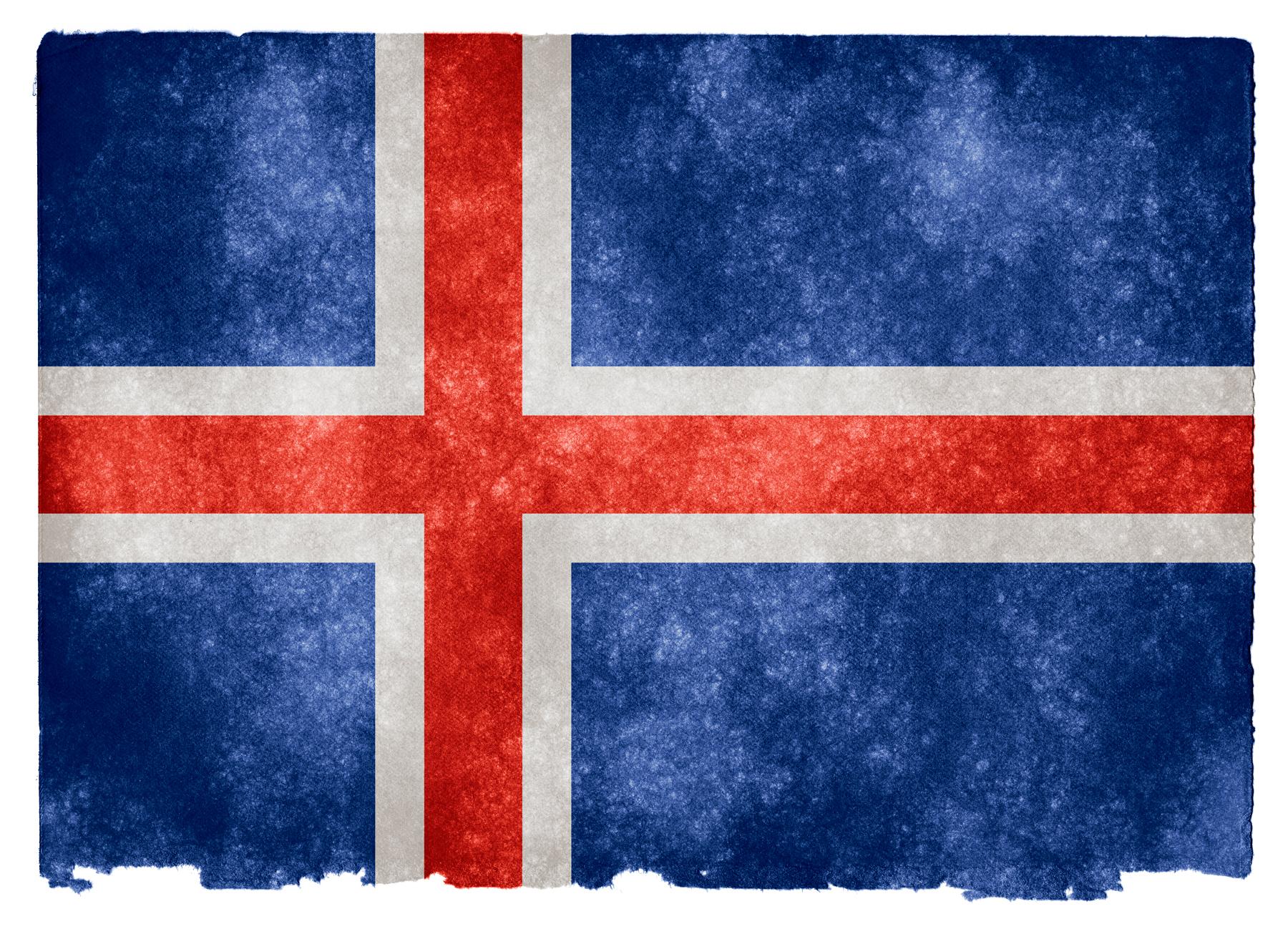Iceland Grunge Flag, Aged, Proud, Nation, National, HQ Photo