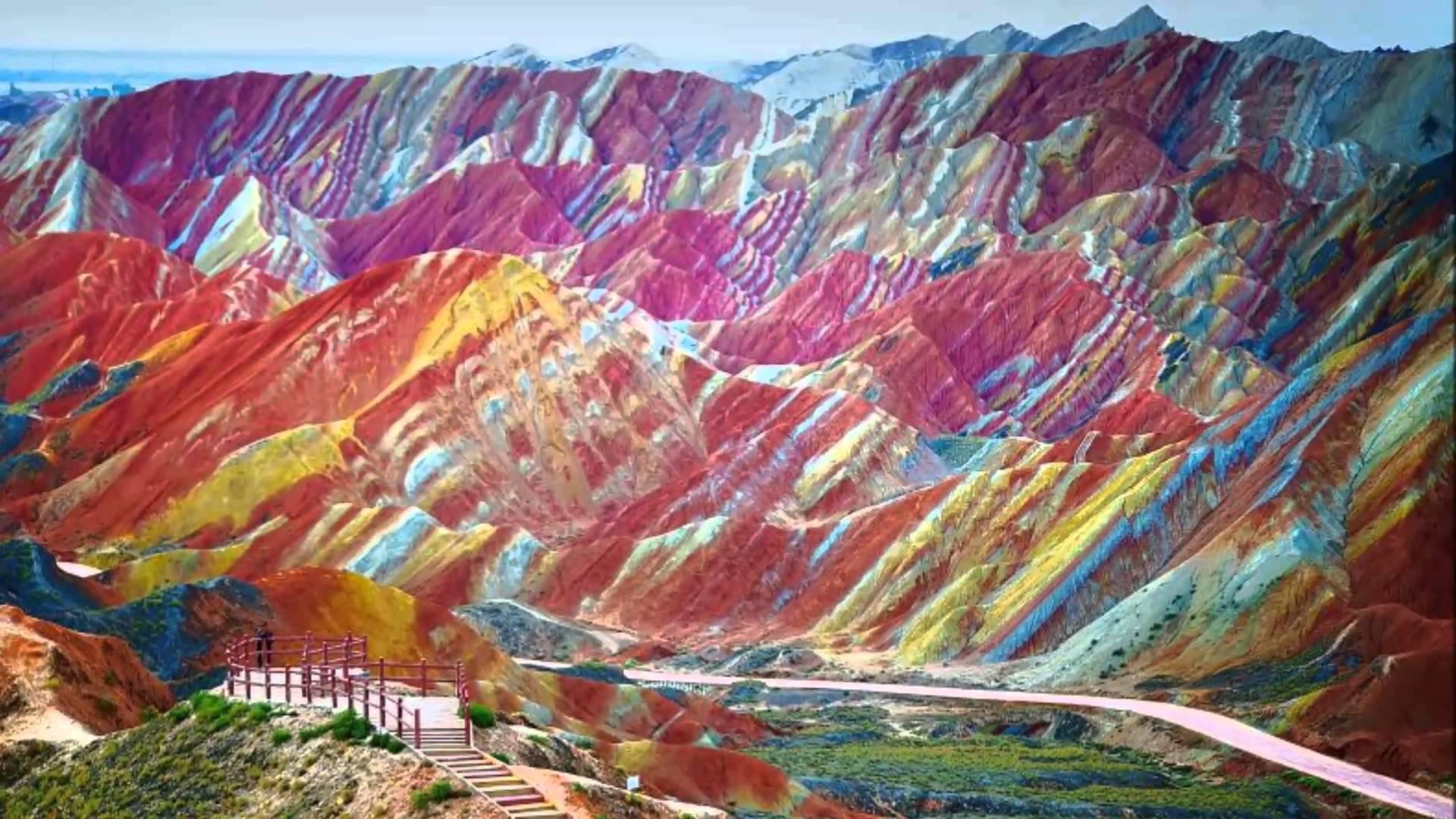 World Rainbow mountains - Wanderlust Magazine
