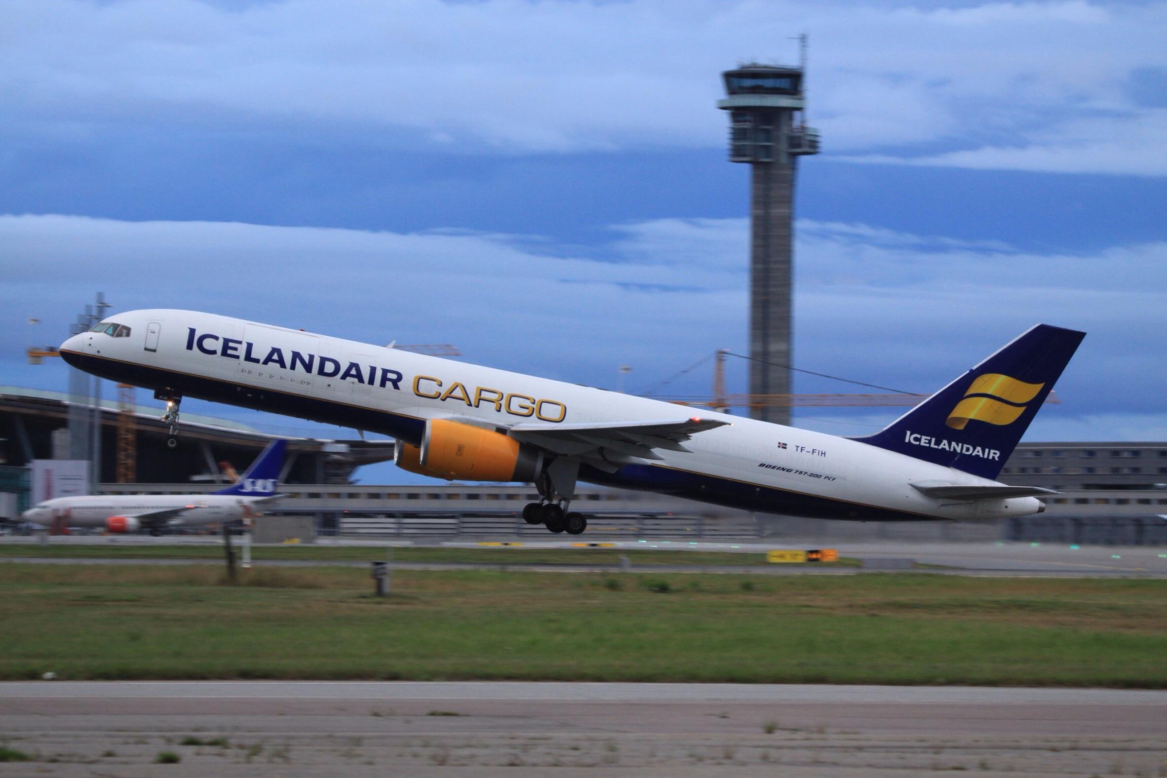 Icelandair cargo photo