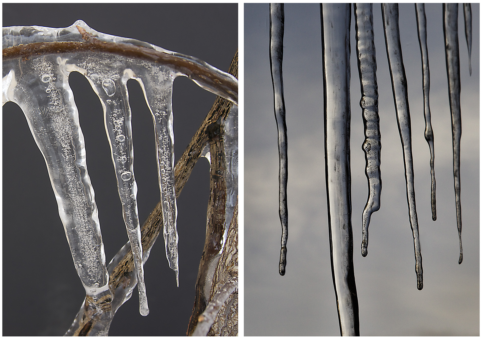 Air Bubble Formation in Icicles - EPOD - a service of USRA