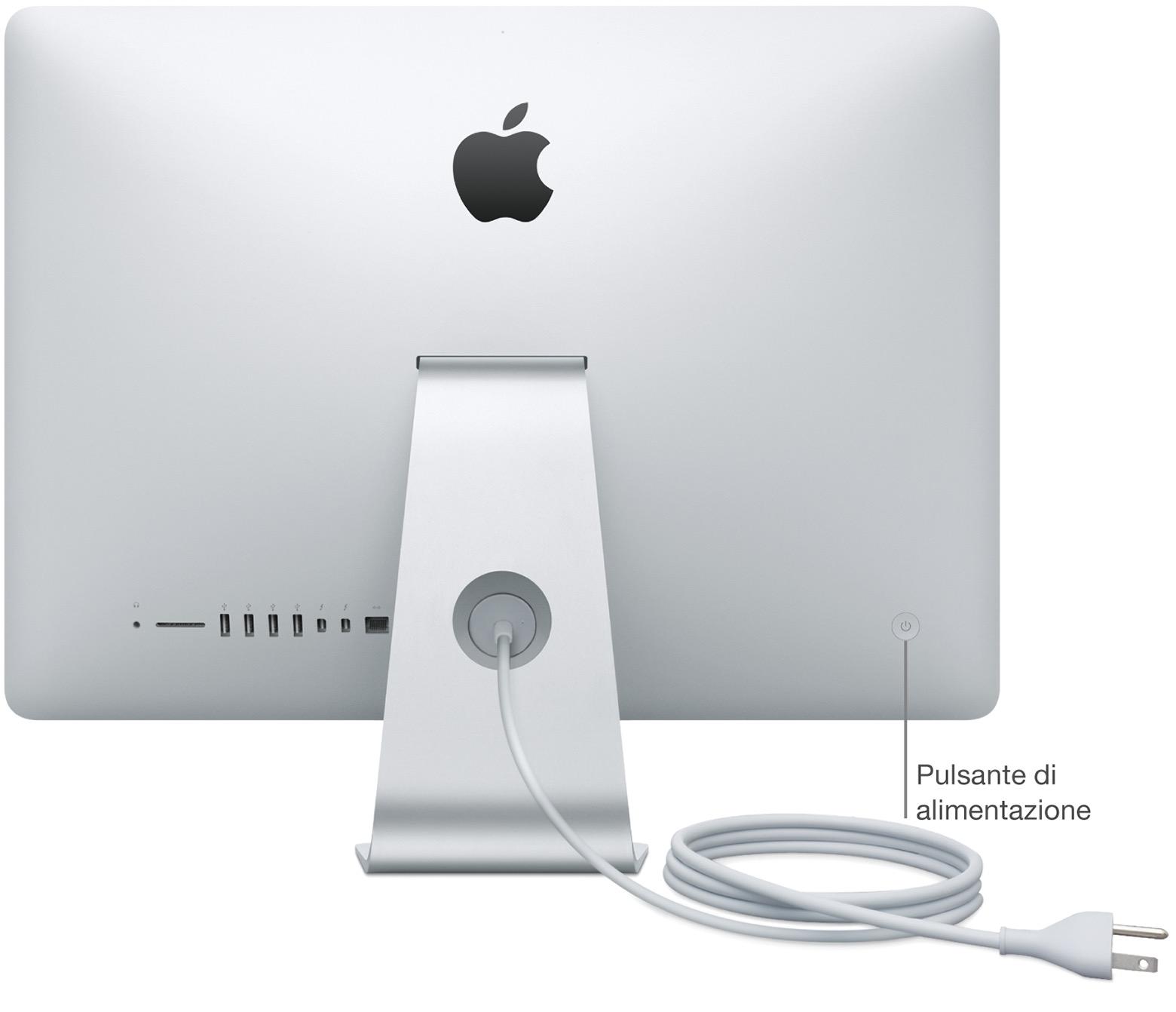 Come accendere o spegnere il Mac - Supporto Apple