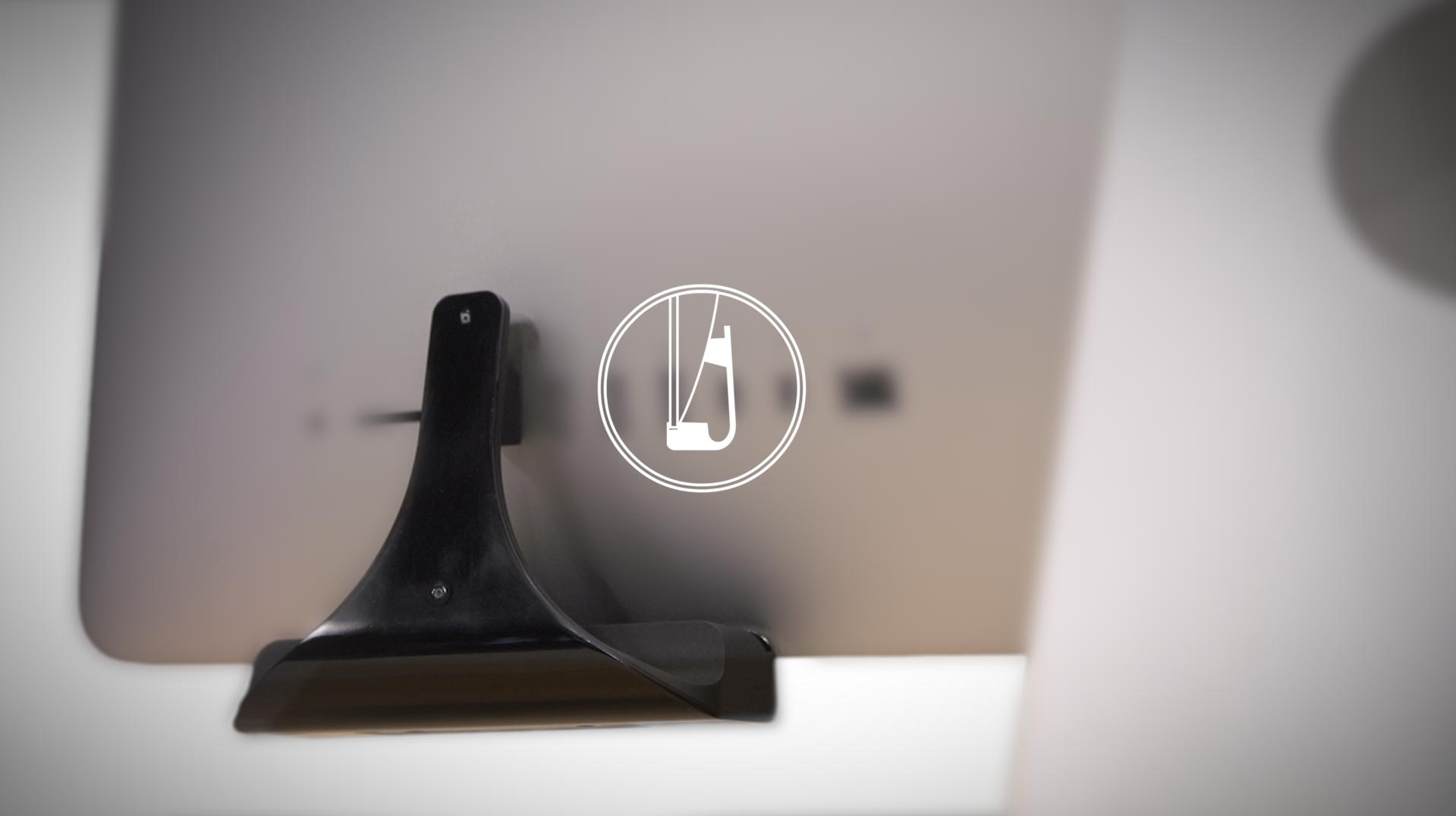 Huback: Plug & Play, No More Turning iMac | Indiegogo