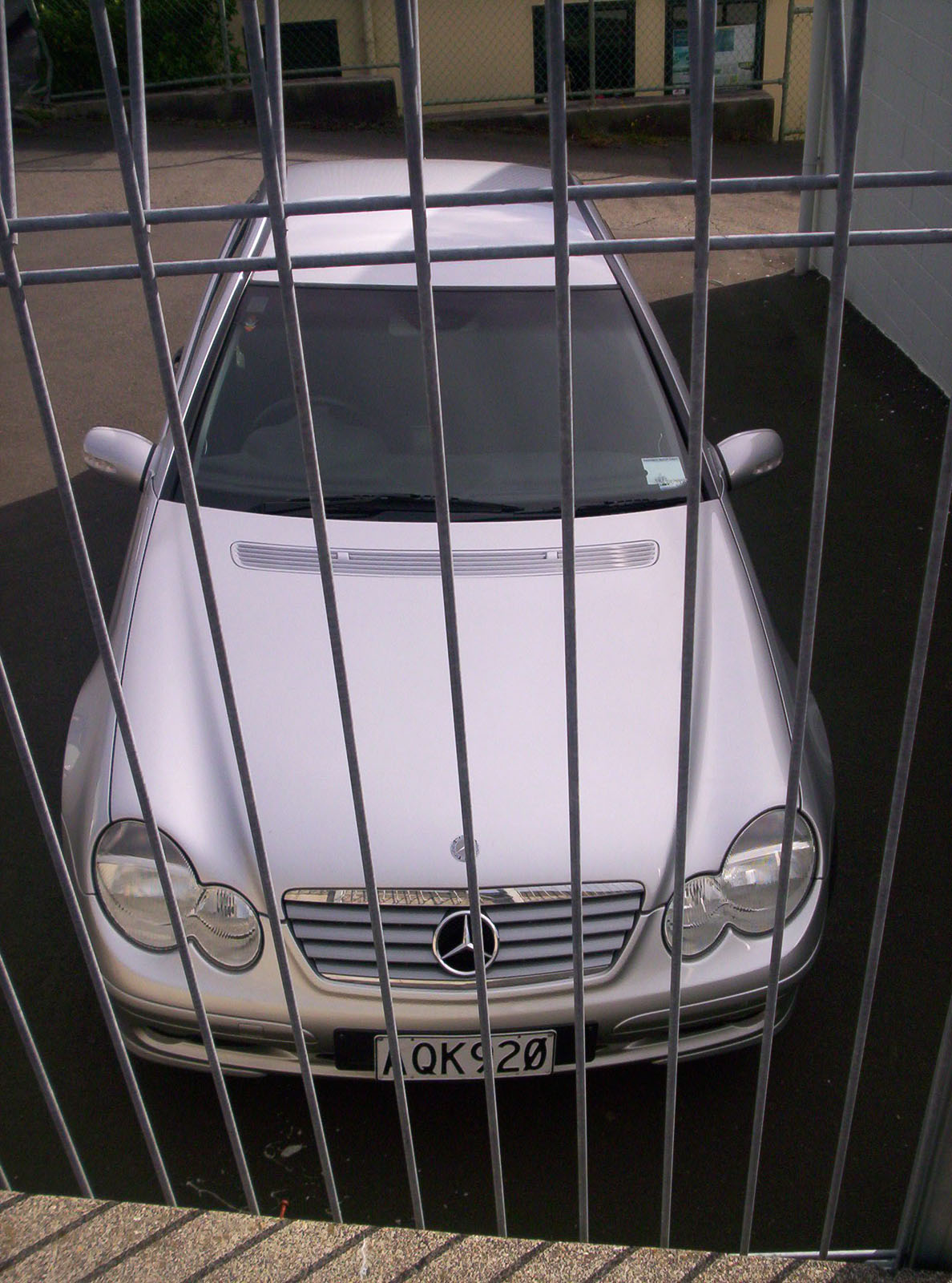 Imprisoned mercedes photo