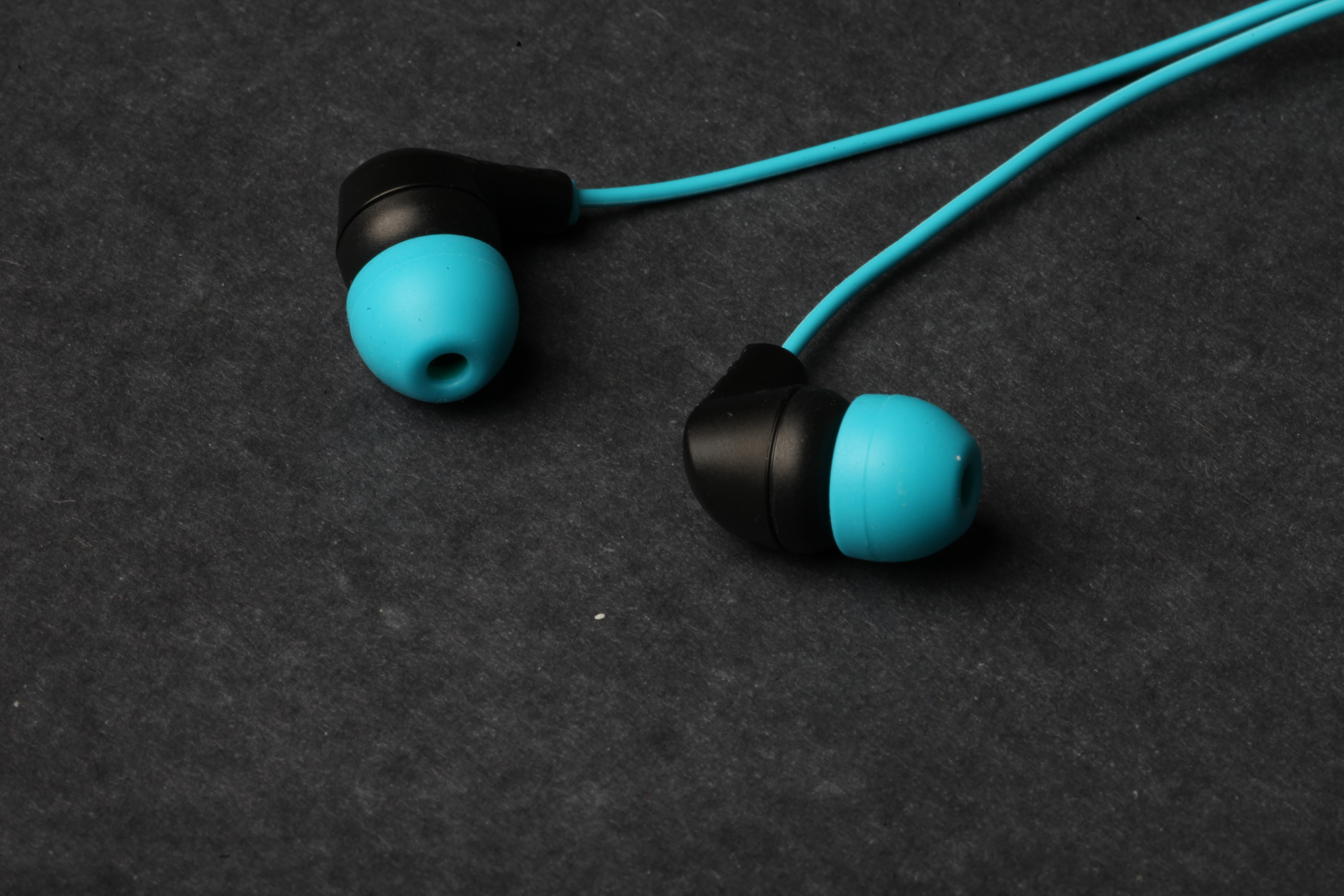 In Ear Headphones, Blue, Earphones, Headphones, Listen, HQ Photo