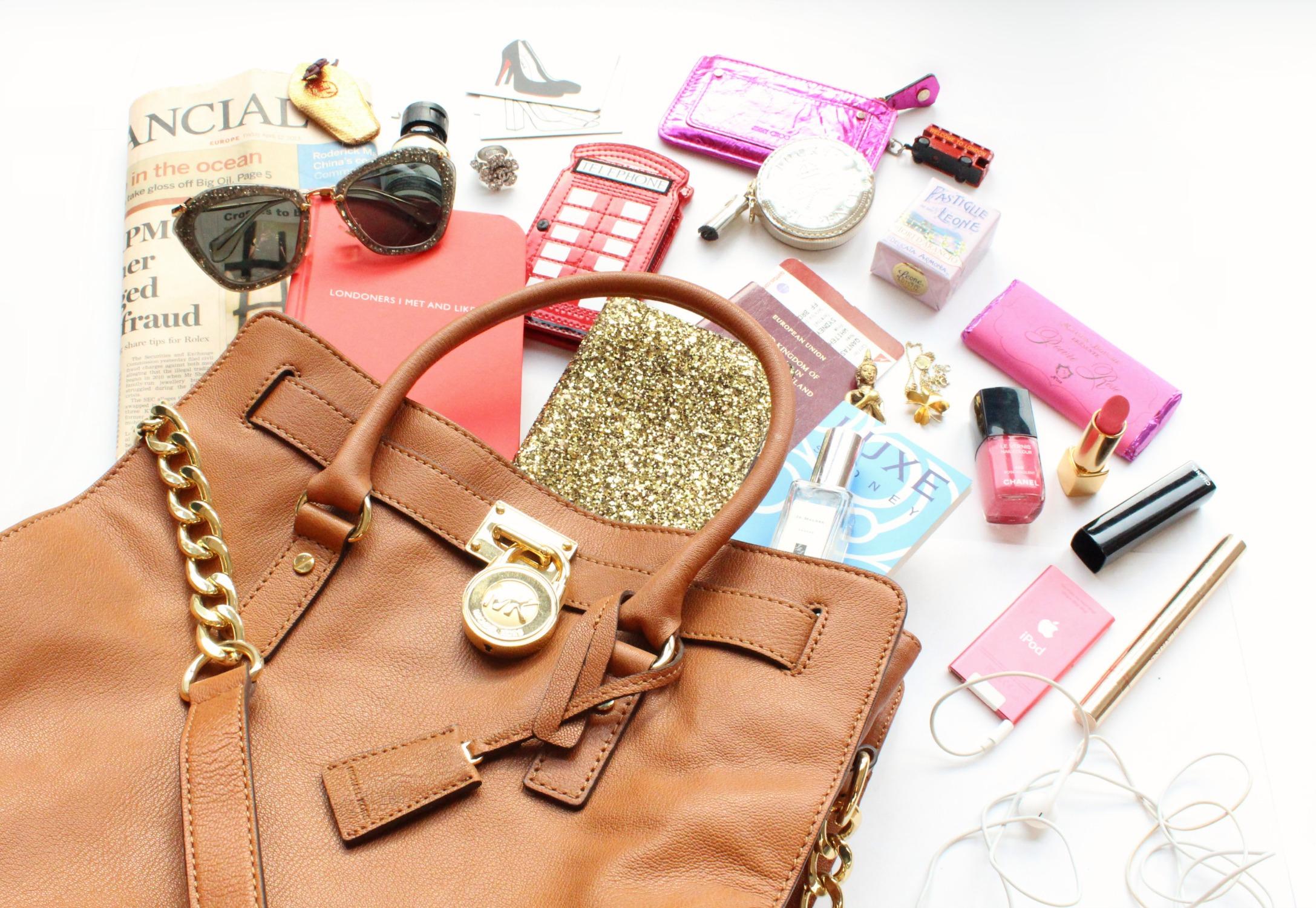 In girl's handbag photo
