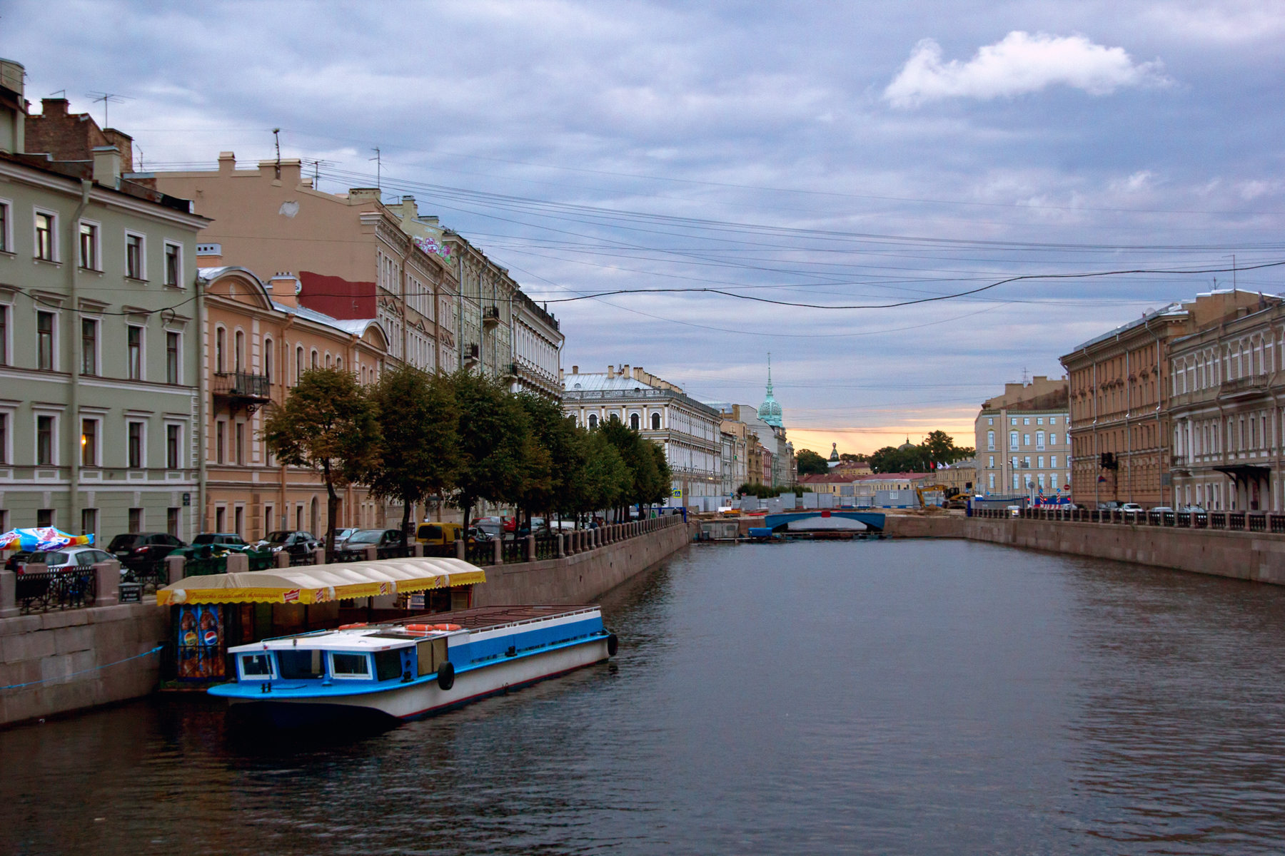 In saint-petersburg photo
