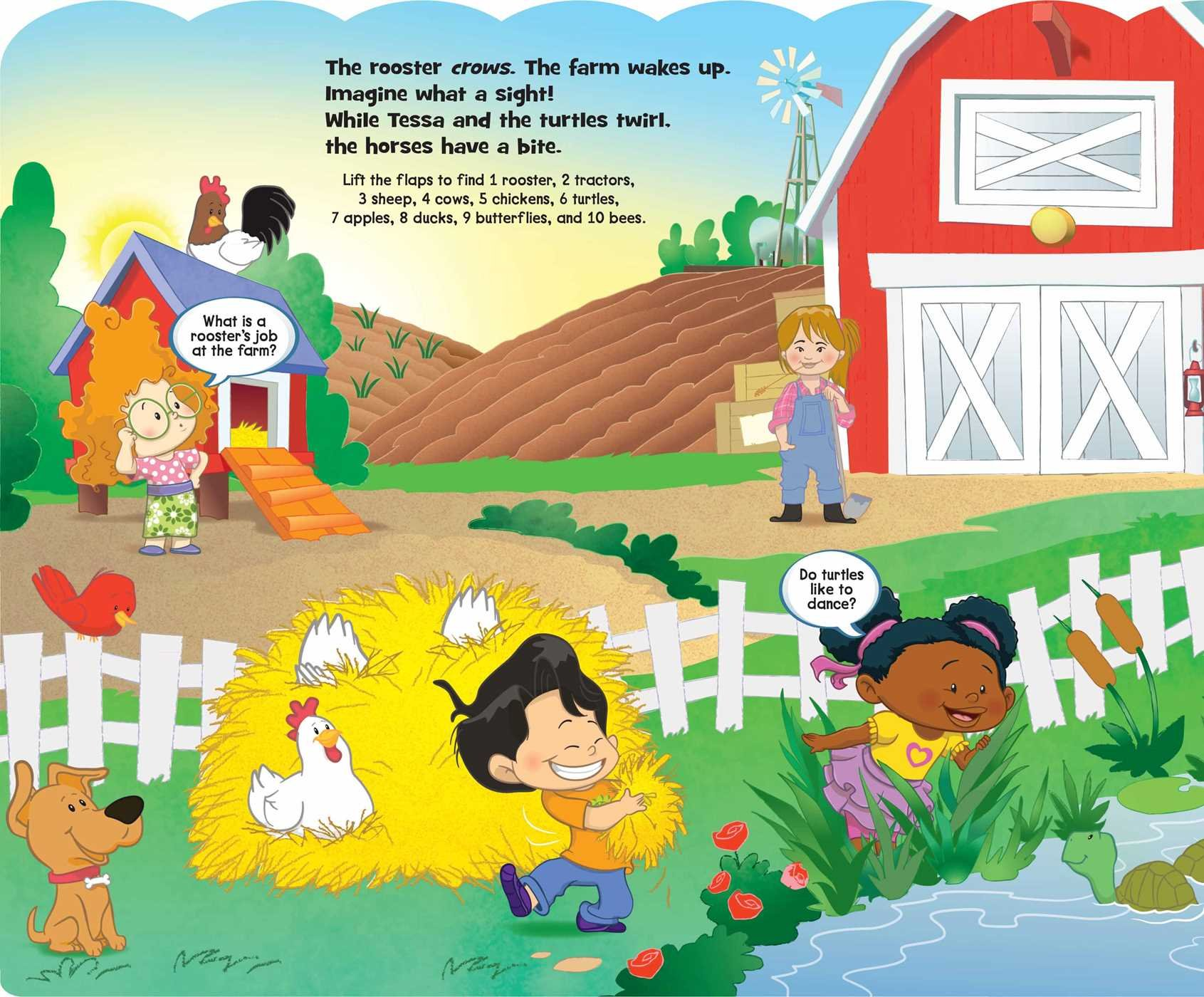 Fisher-Price Little People: Let's Imagine on the Farm (Lift-the-Flap ...