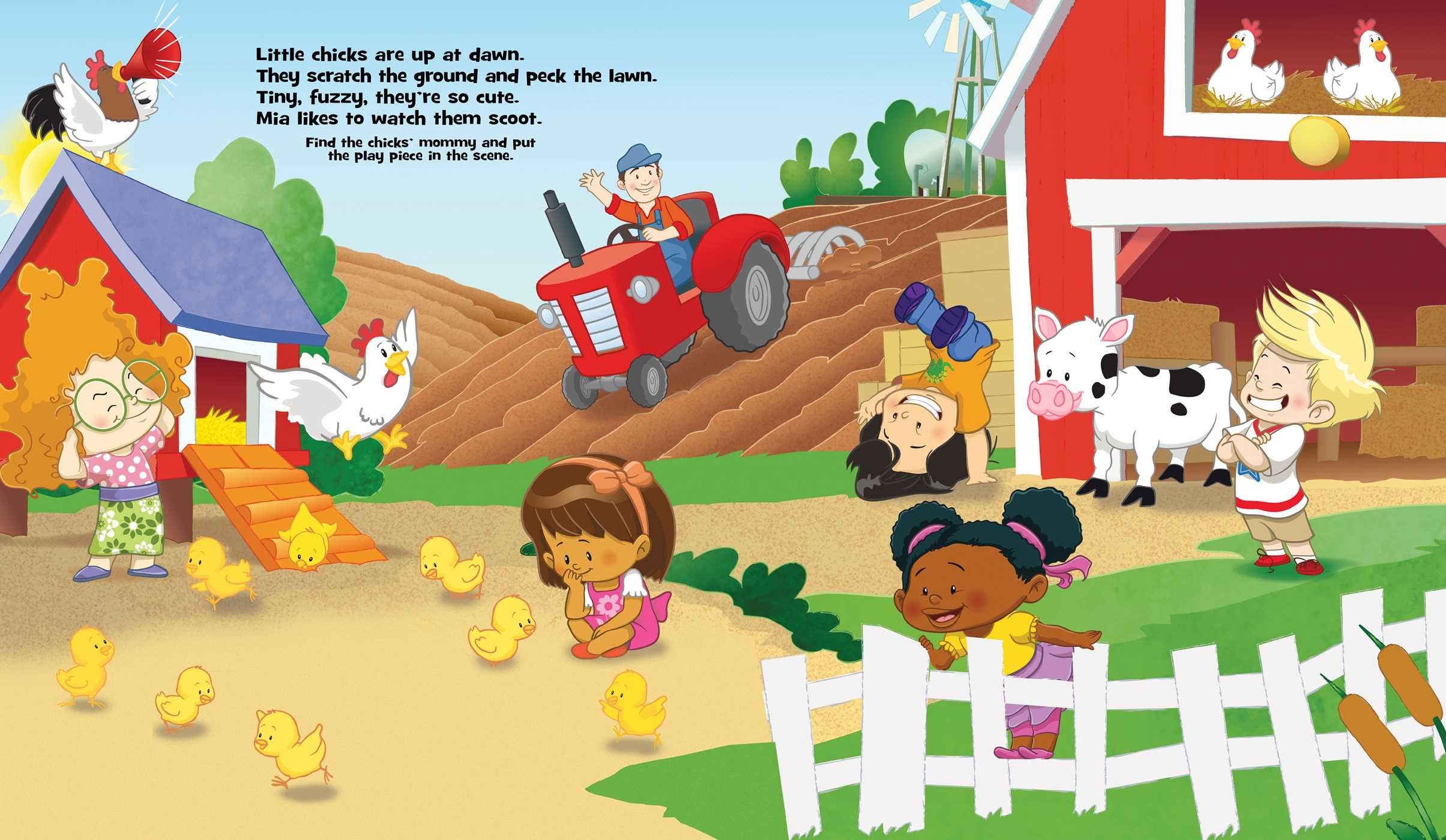 Fisher-Price Little People: On the Farm | Book by Matt Mitter ...