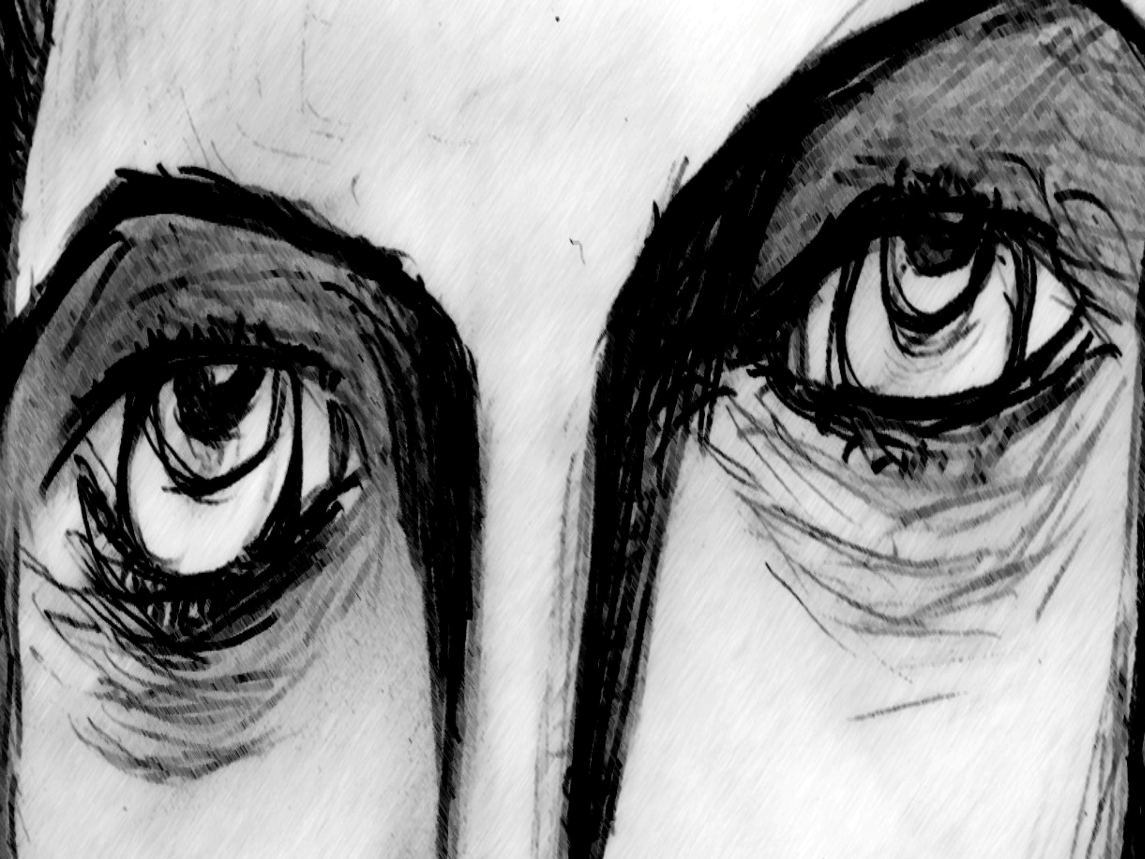 In Your Eyes, Art, Artwork, Beauty, Black, HQ Photo