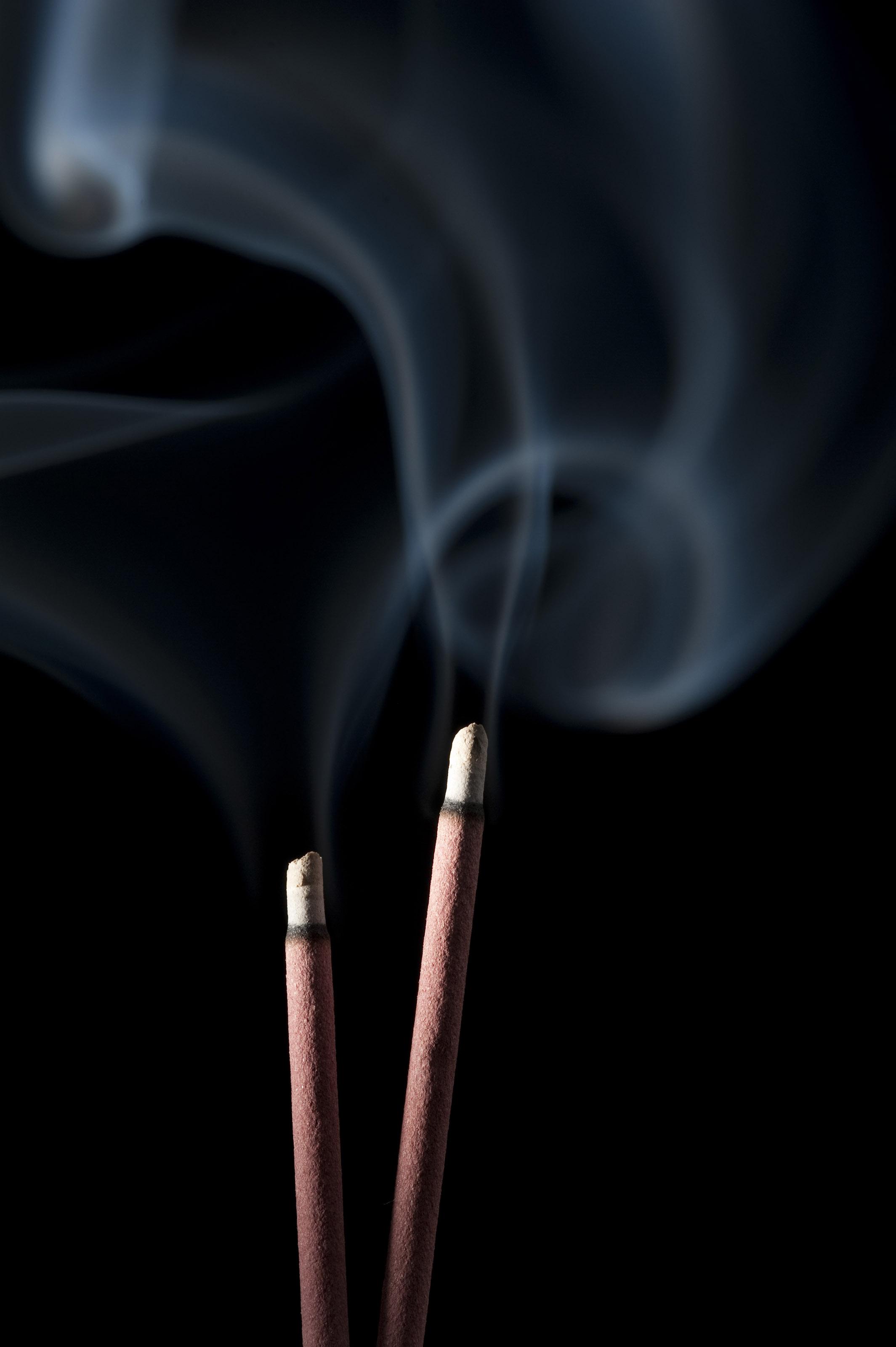 Free Stock Photo 4557 burning incense | freeimageslive