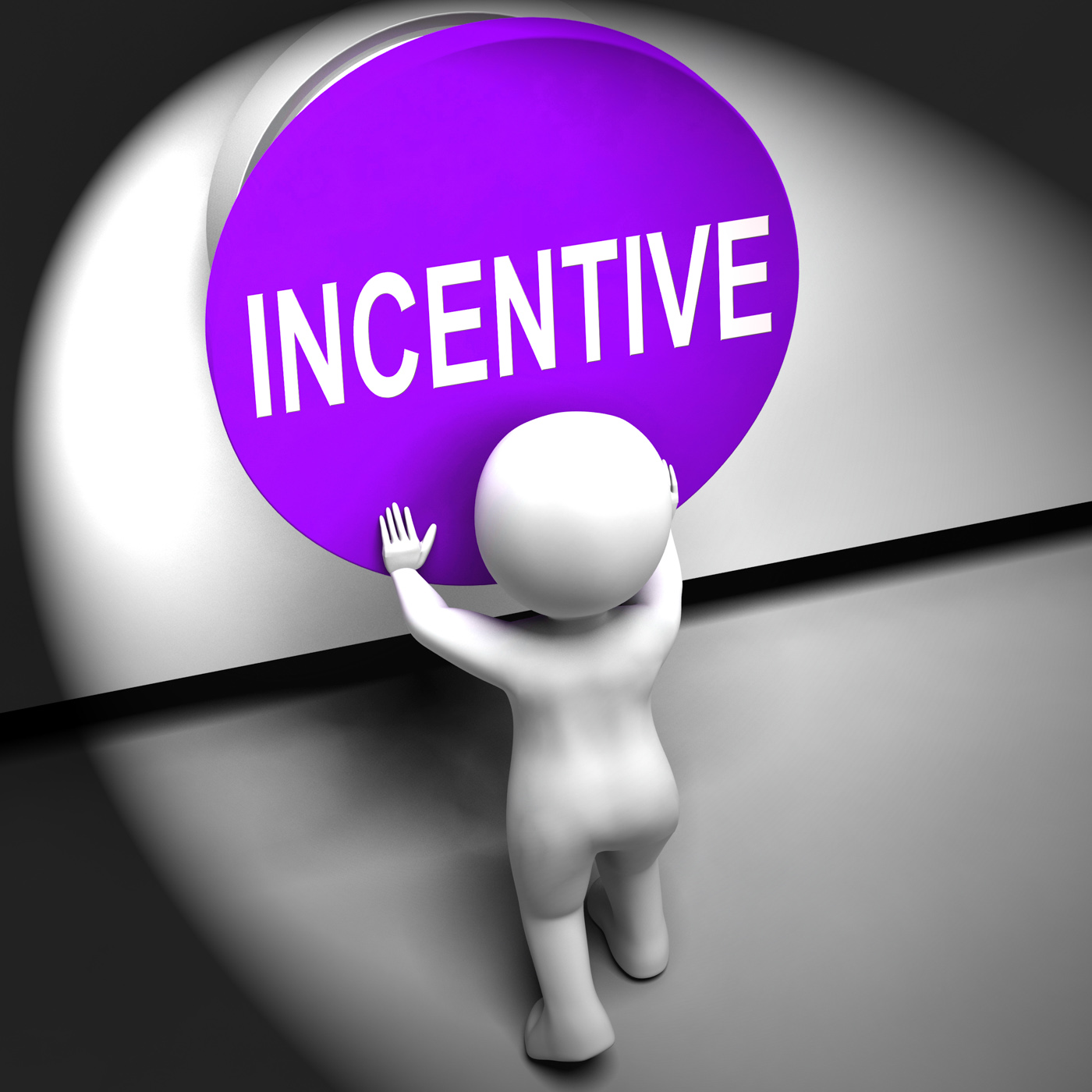 Incentive Pressed Means Bonus Reward And Motivation, Motivational, Offer, Premium, Motivation, HQ Photo