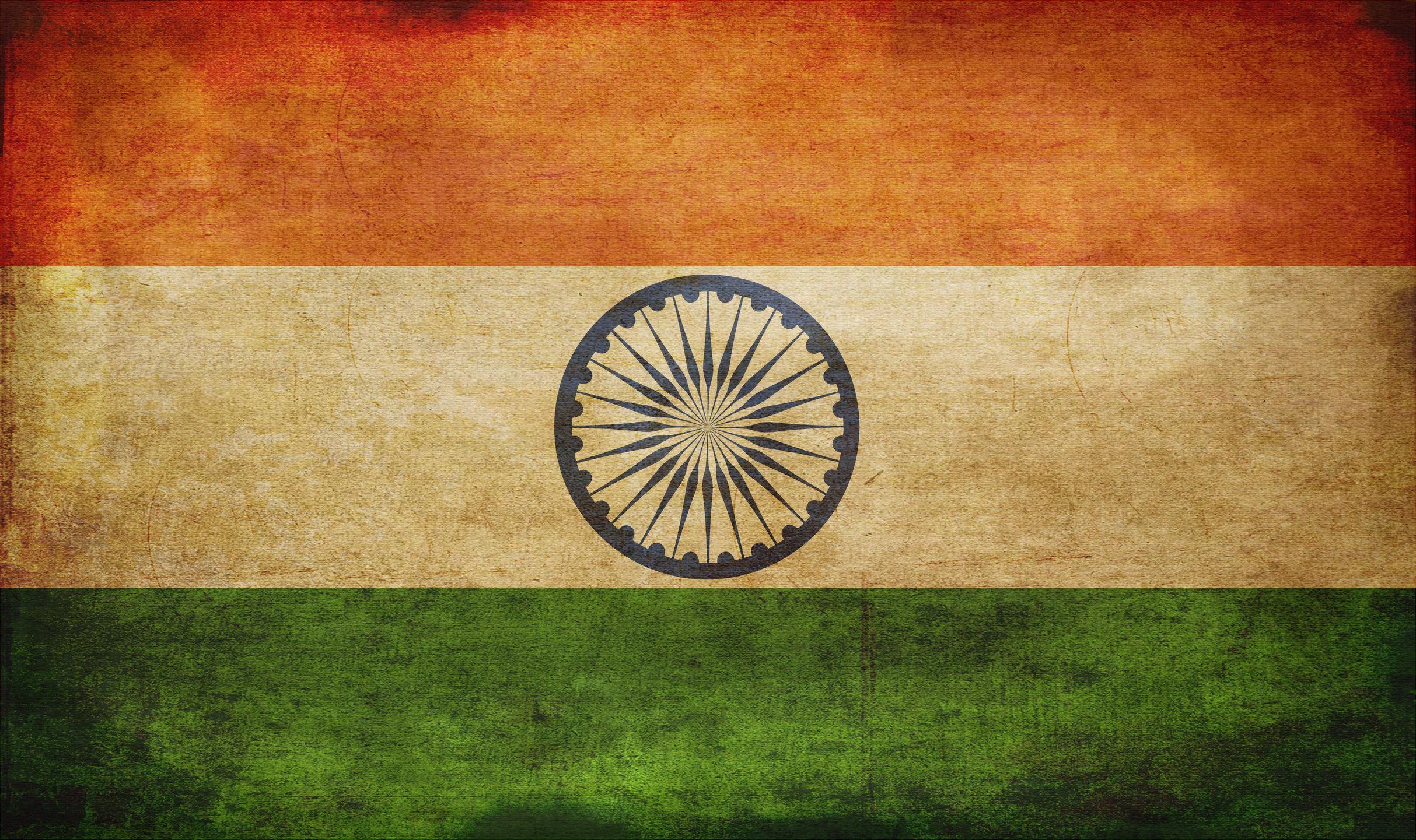 India grunge flag photo