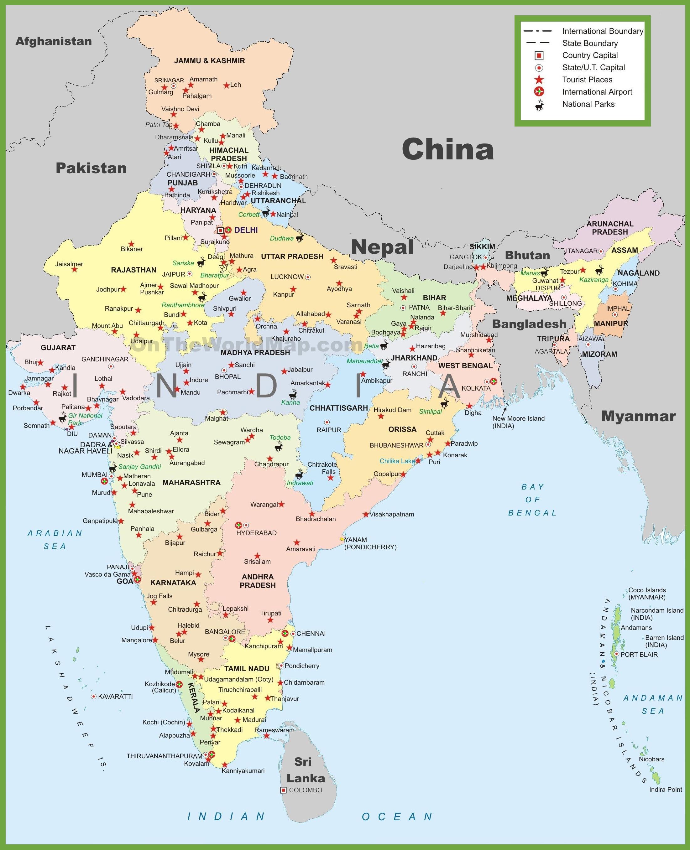 India Maps | Maps of India