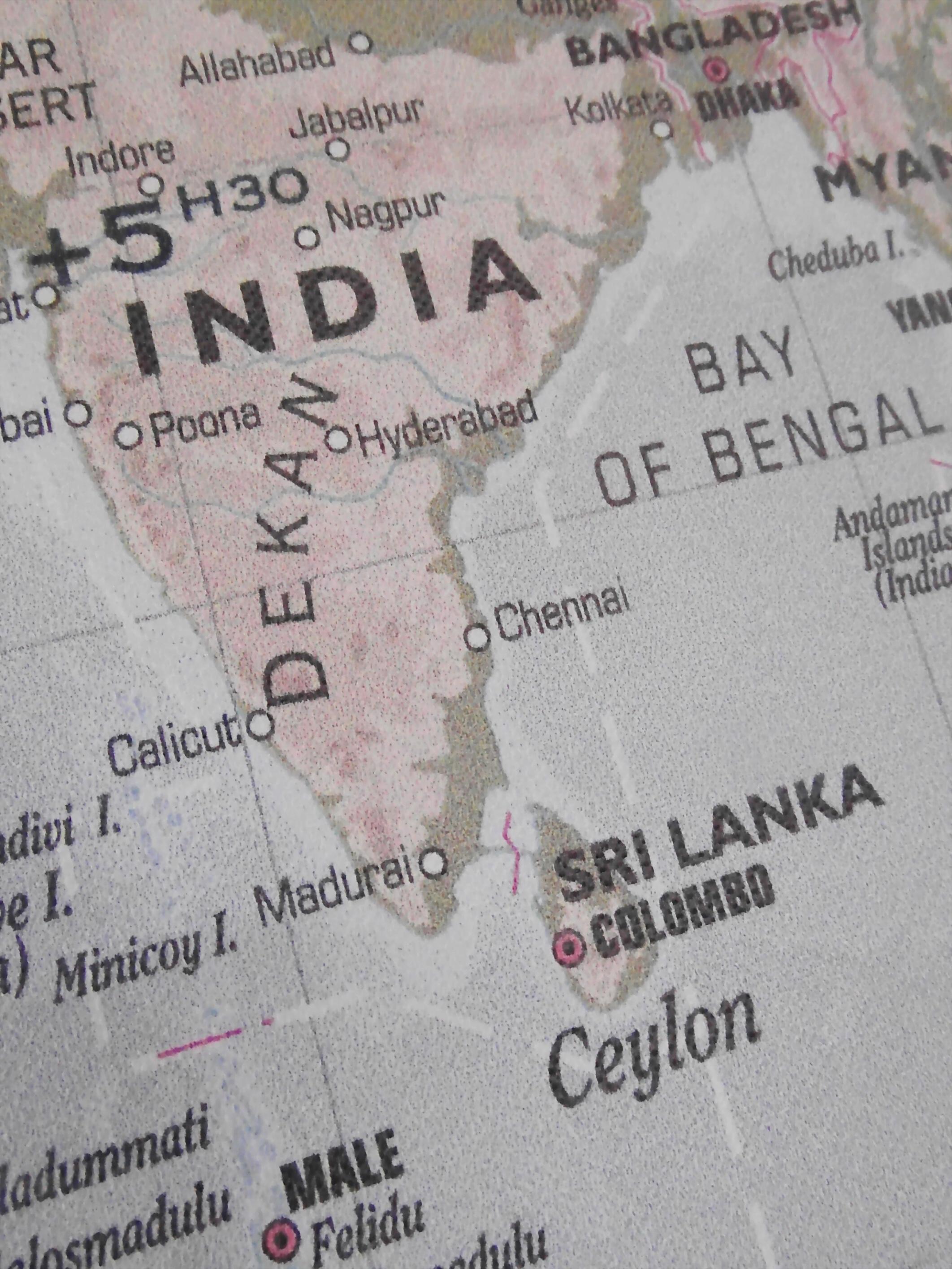 India Map, Atlas, Bangladesh, Chennai, Cities, HQ Photo