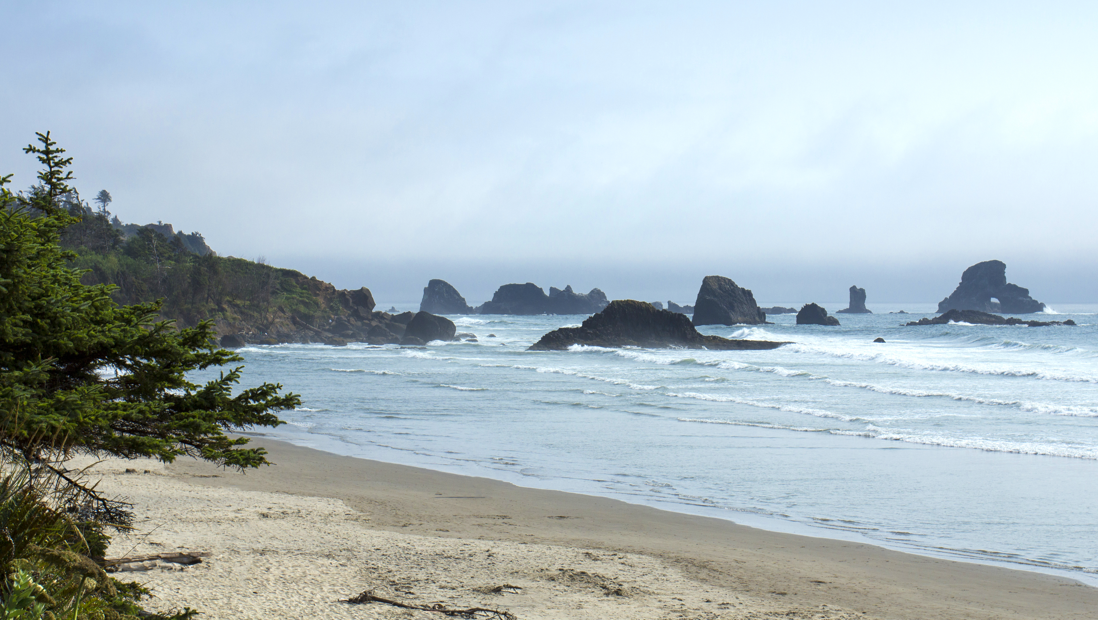 Indian beach, oregon photo