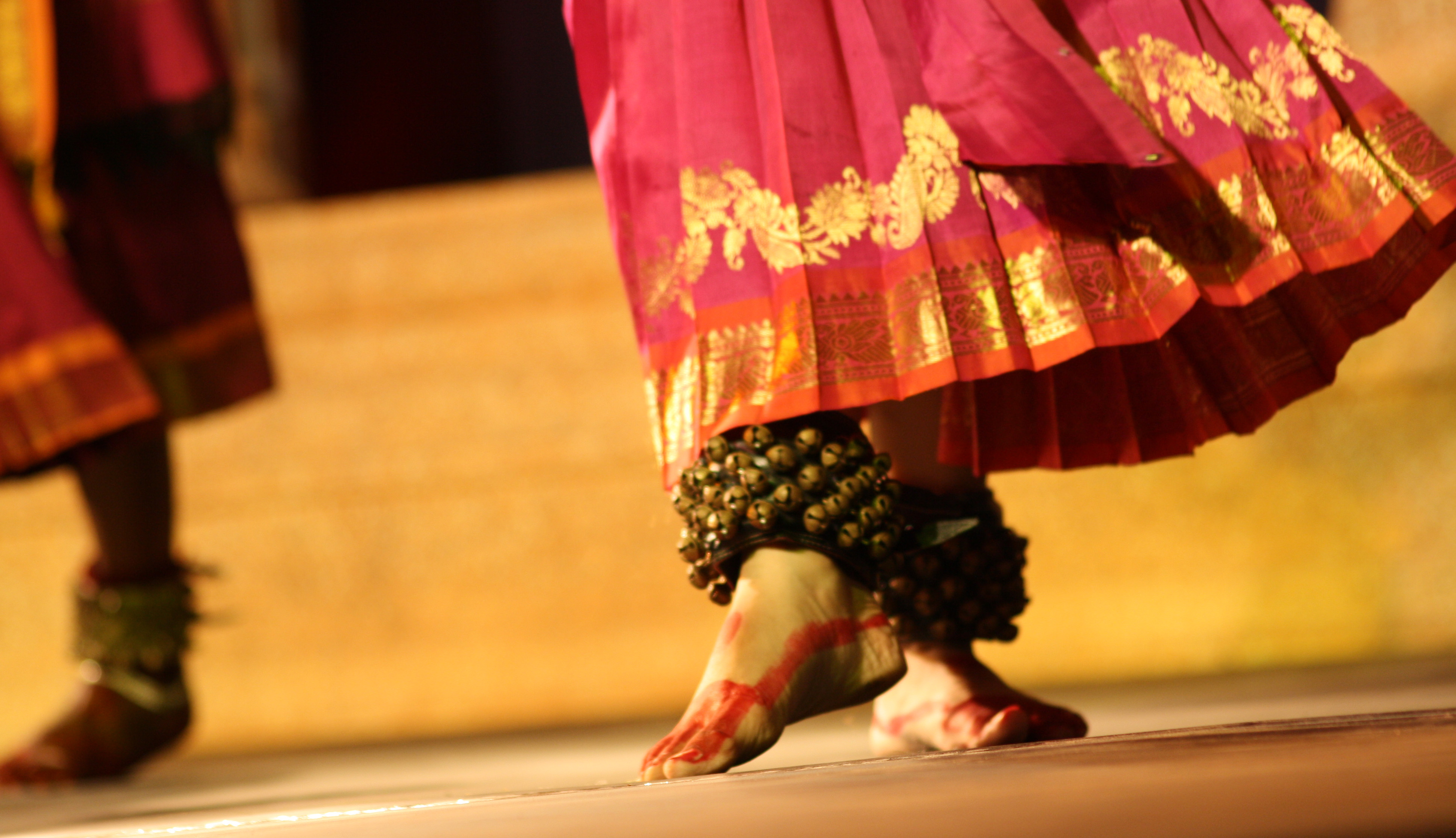 Indian bharatanatiyam dance photo