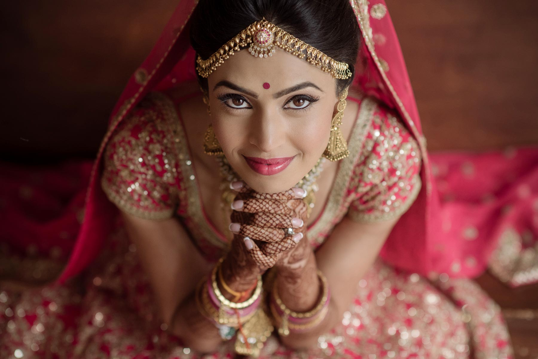 Indian Beauty salon Bridal Make-up artistry in Aldie Bridal photo shoot indian