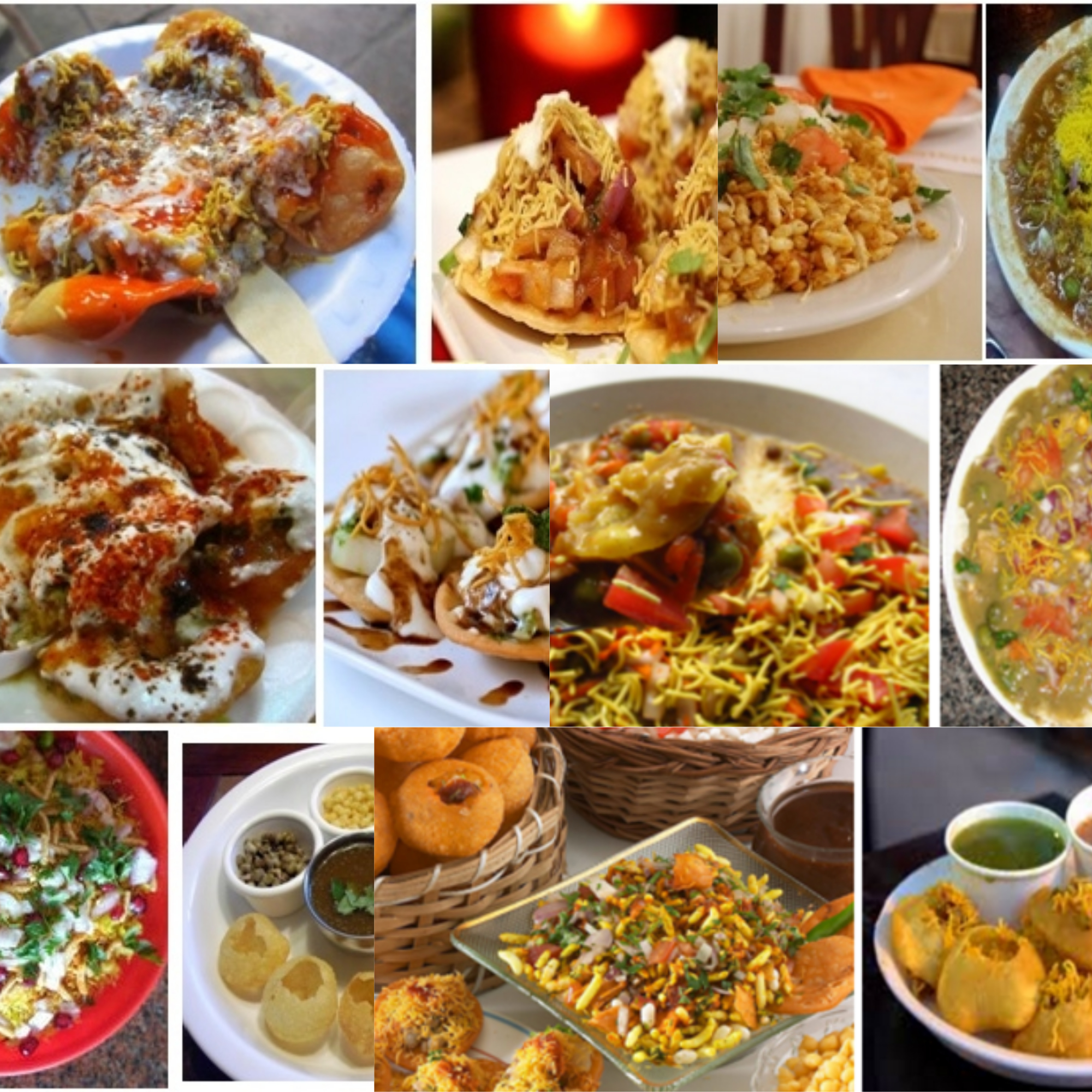 Free photo: Indian chats - Chat, Dinner, Dish - Free