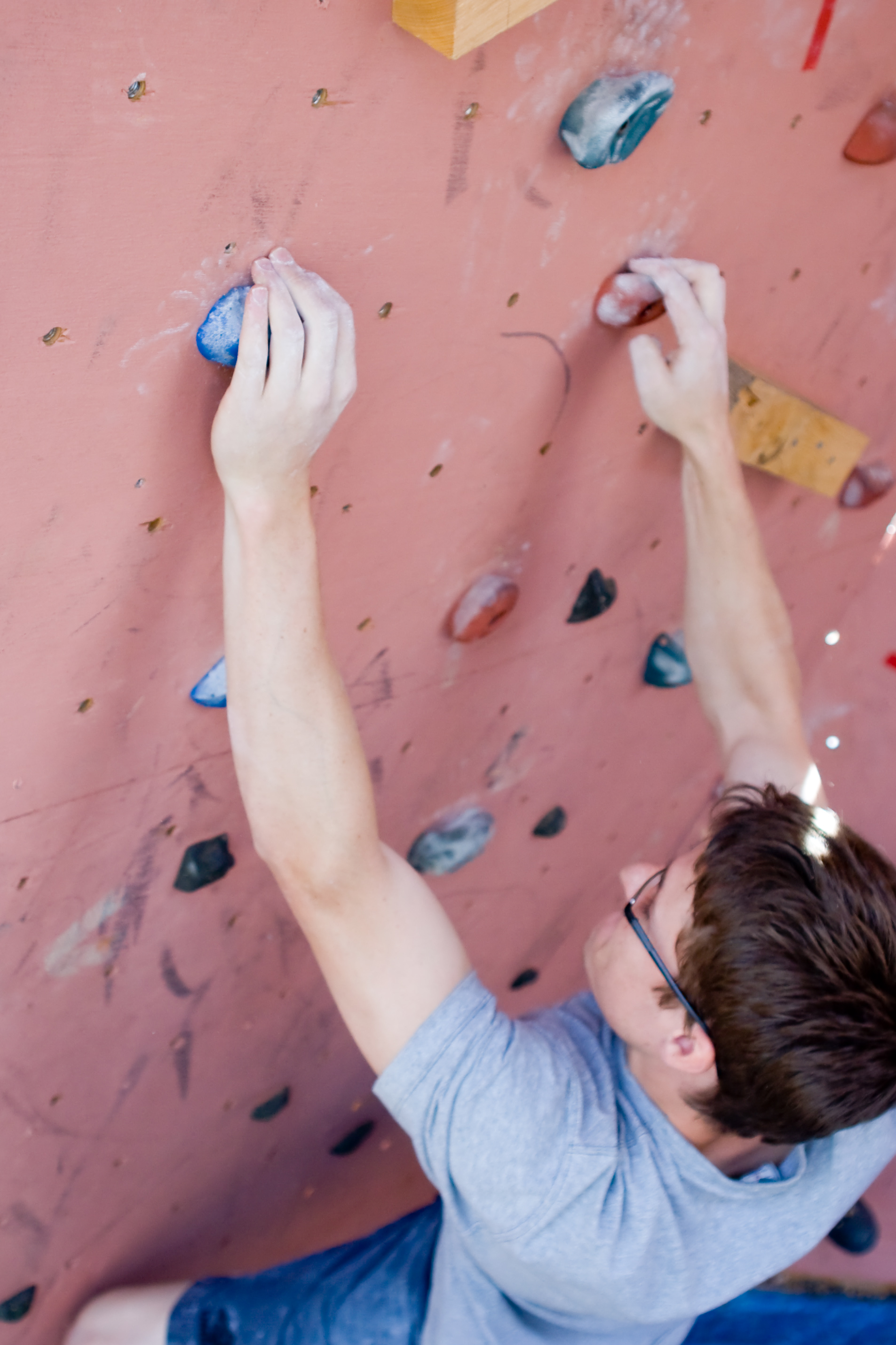Indoor climber, Determination, Power, Wall, Strength, HQ Photo