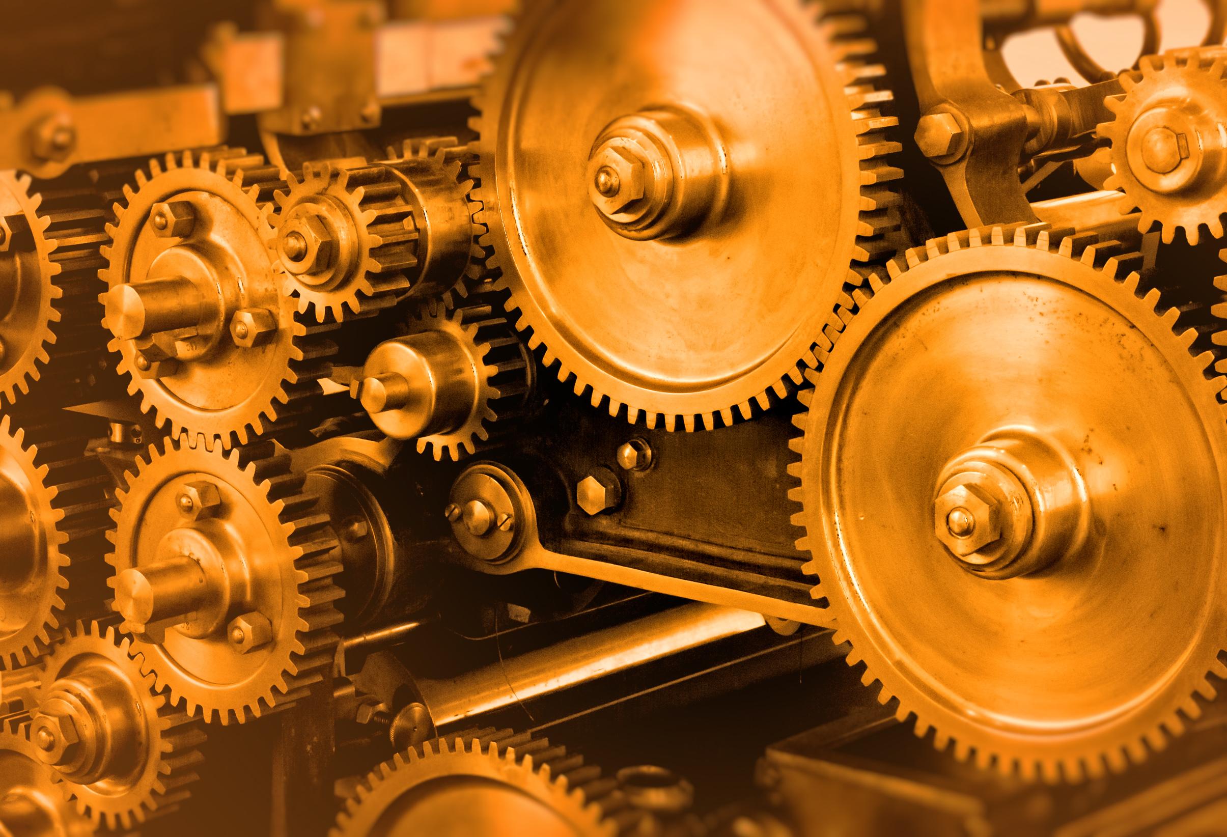 Industrial theme - heavy gears photo