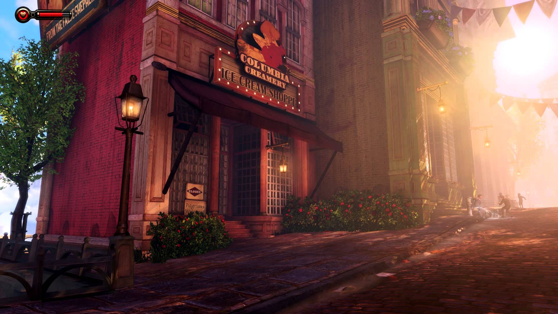DreamScene [Live Wallpaper] - Bioshock Infinite - Street Scene A ...