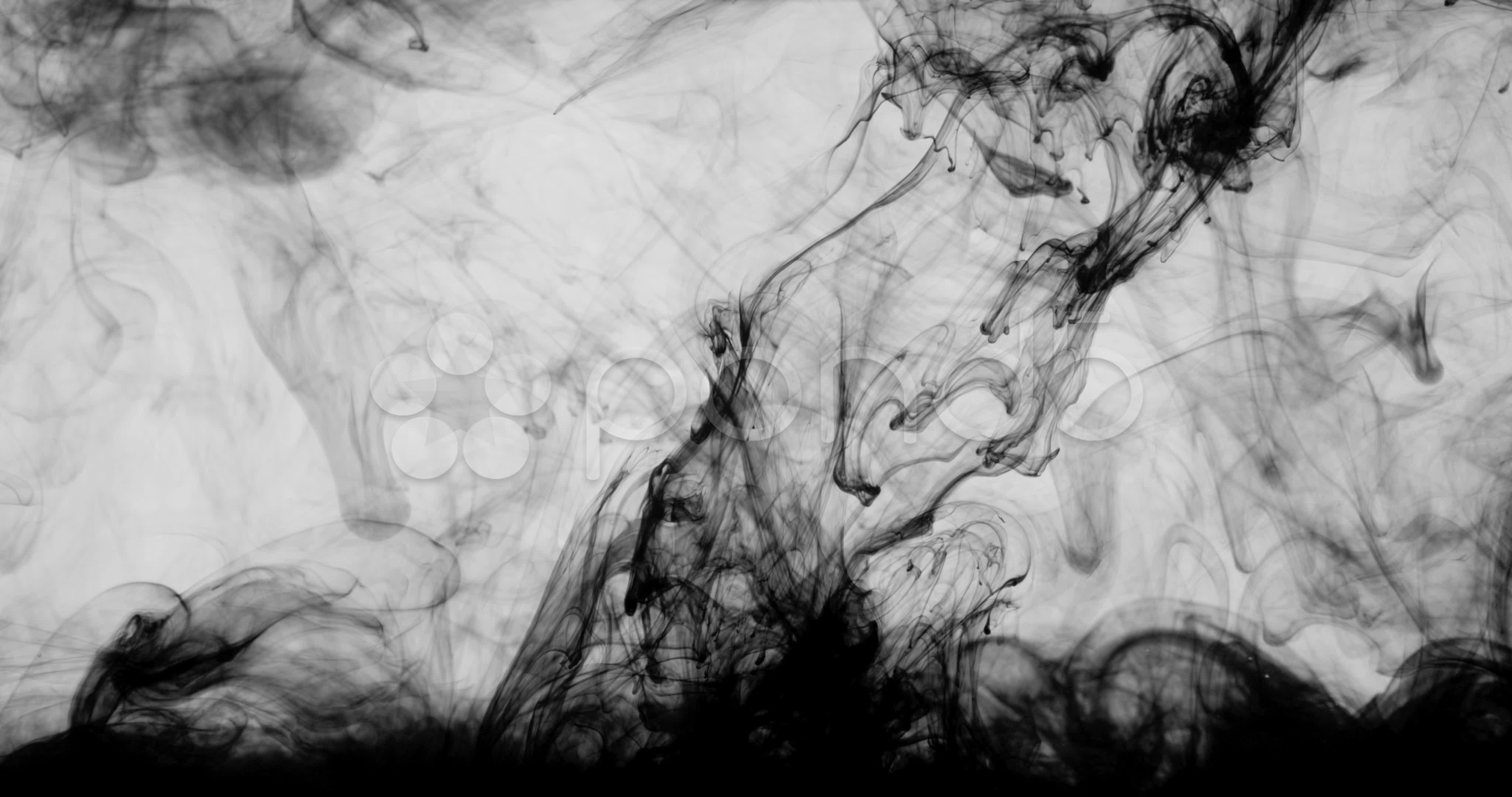 Ink background effects 4K ~ Hi Res Video #21846876