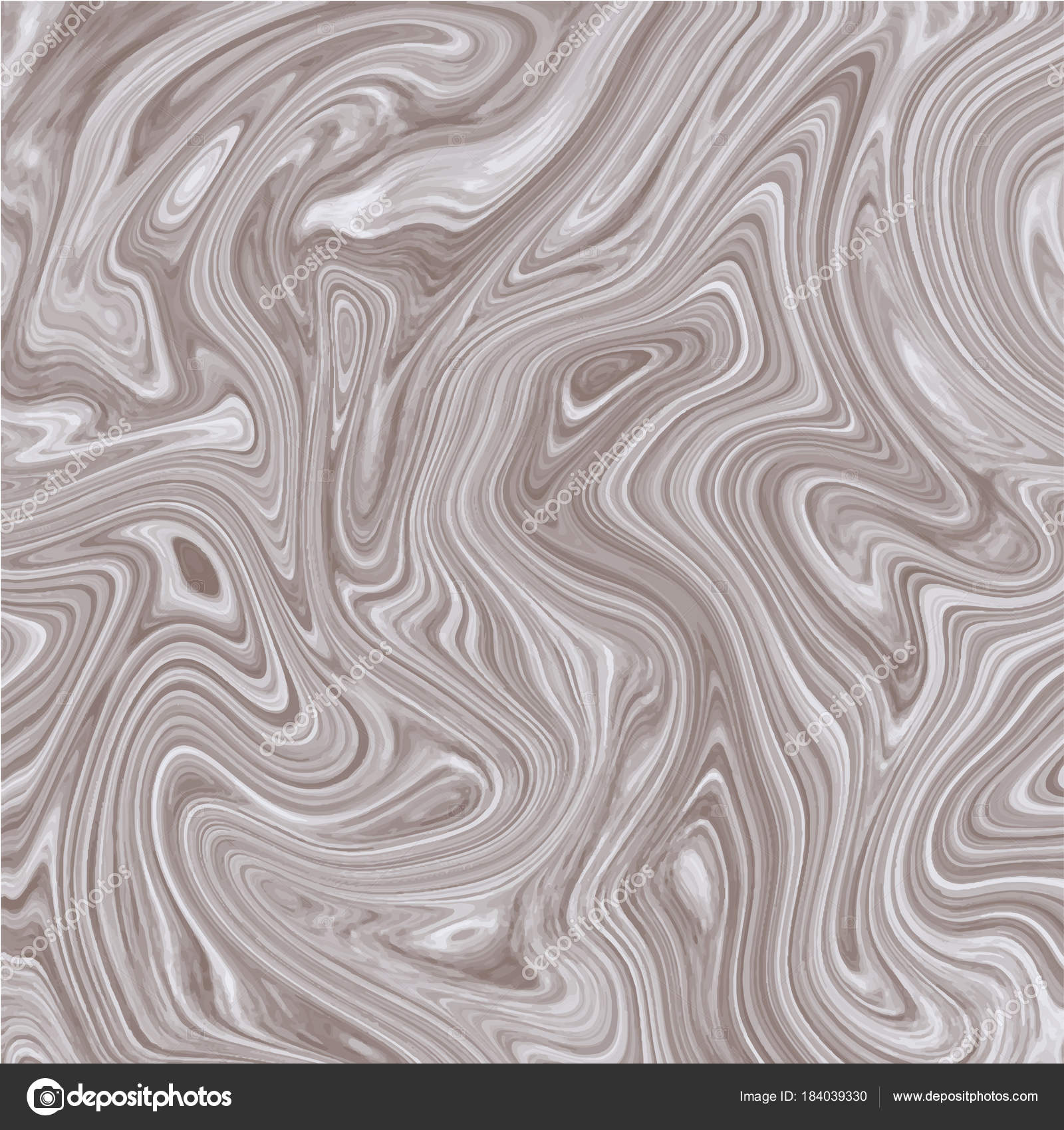 Vector marble white brown background. Ink marble metallic texture ...
